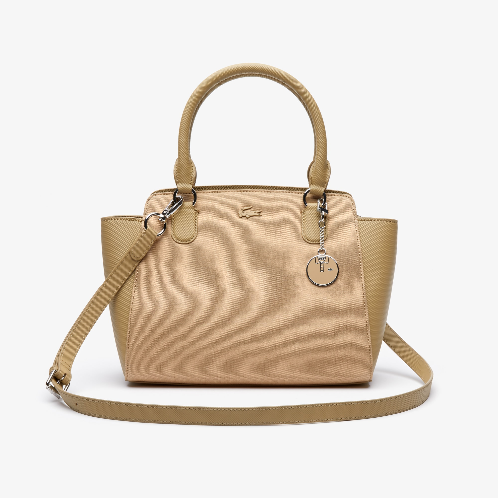 Women's Daily Classic Gusseted Tote Bag by Lacoste