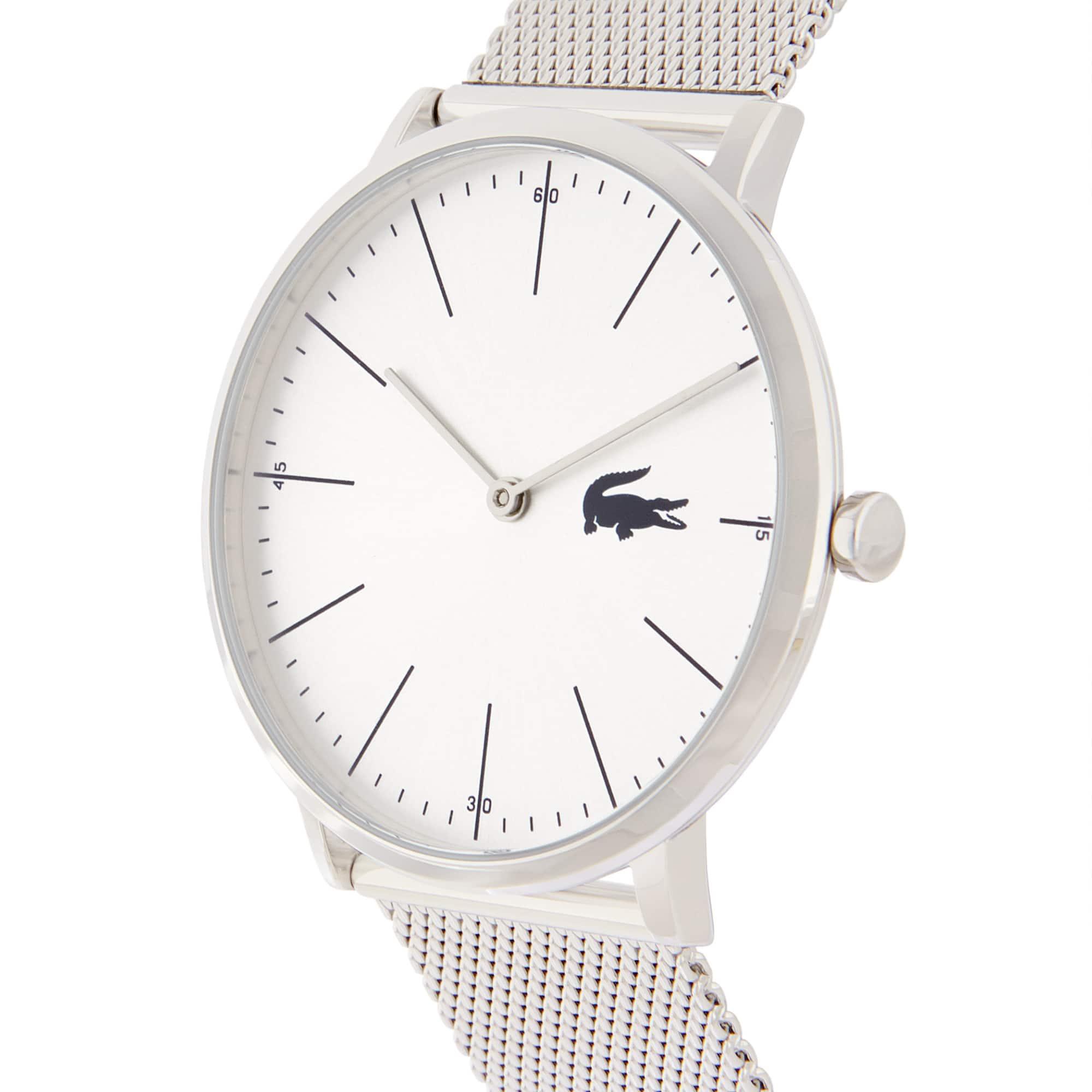 Men's Moon Ultra Slim Watch with Stainless Steel Mesh Bracelet