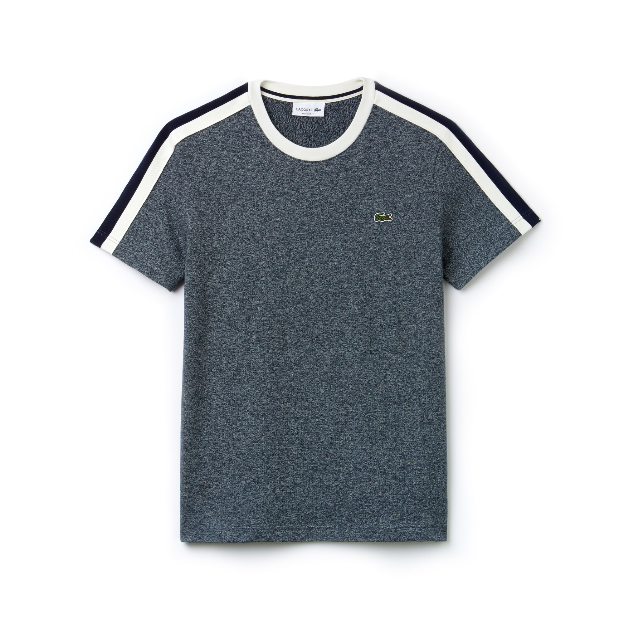 Men's Crew Neck Contrast Band T-Shirt