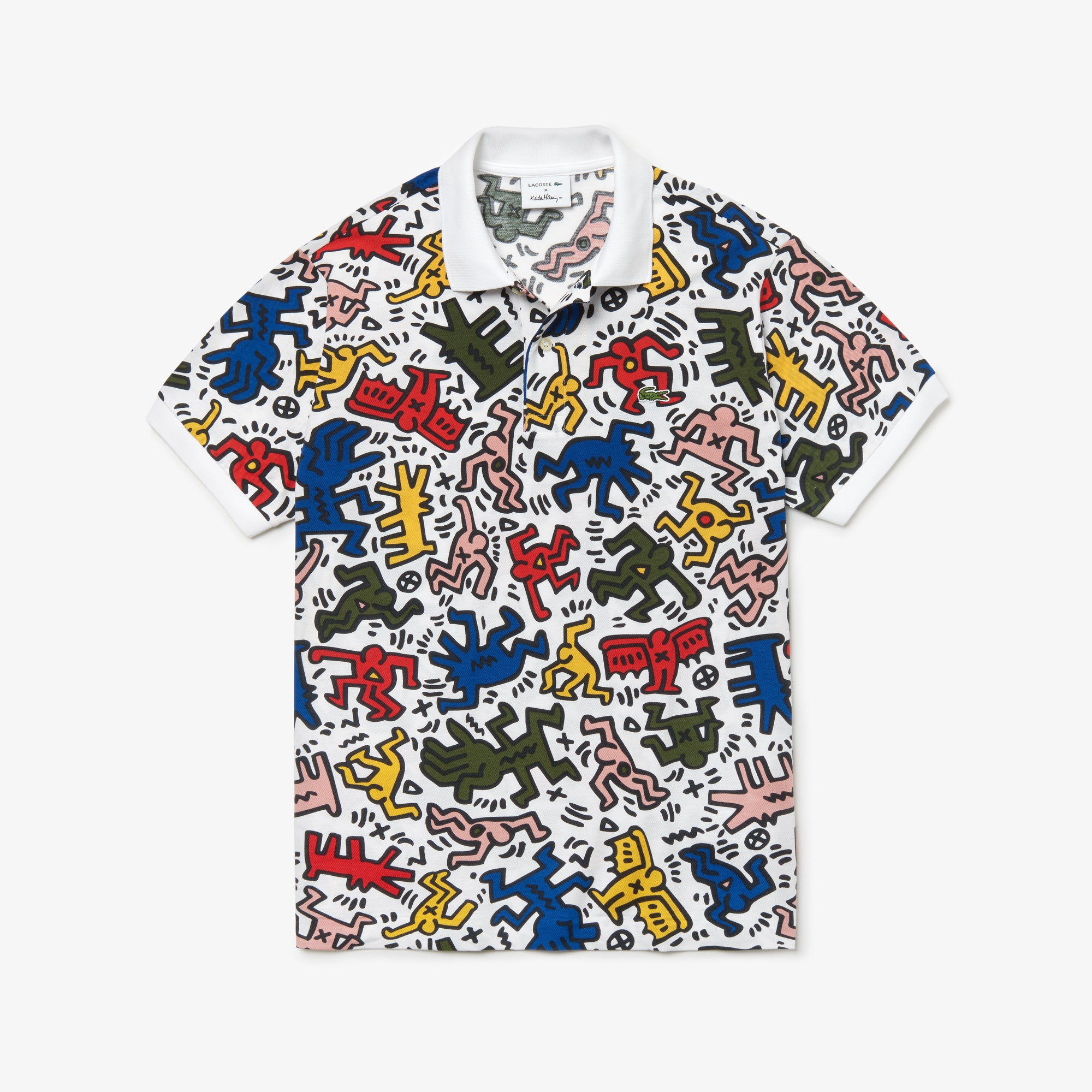 95ad34d9c44e9 Lacoste x Keith Haring