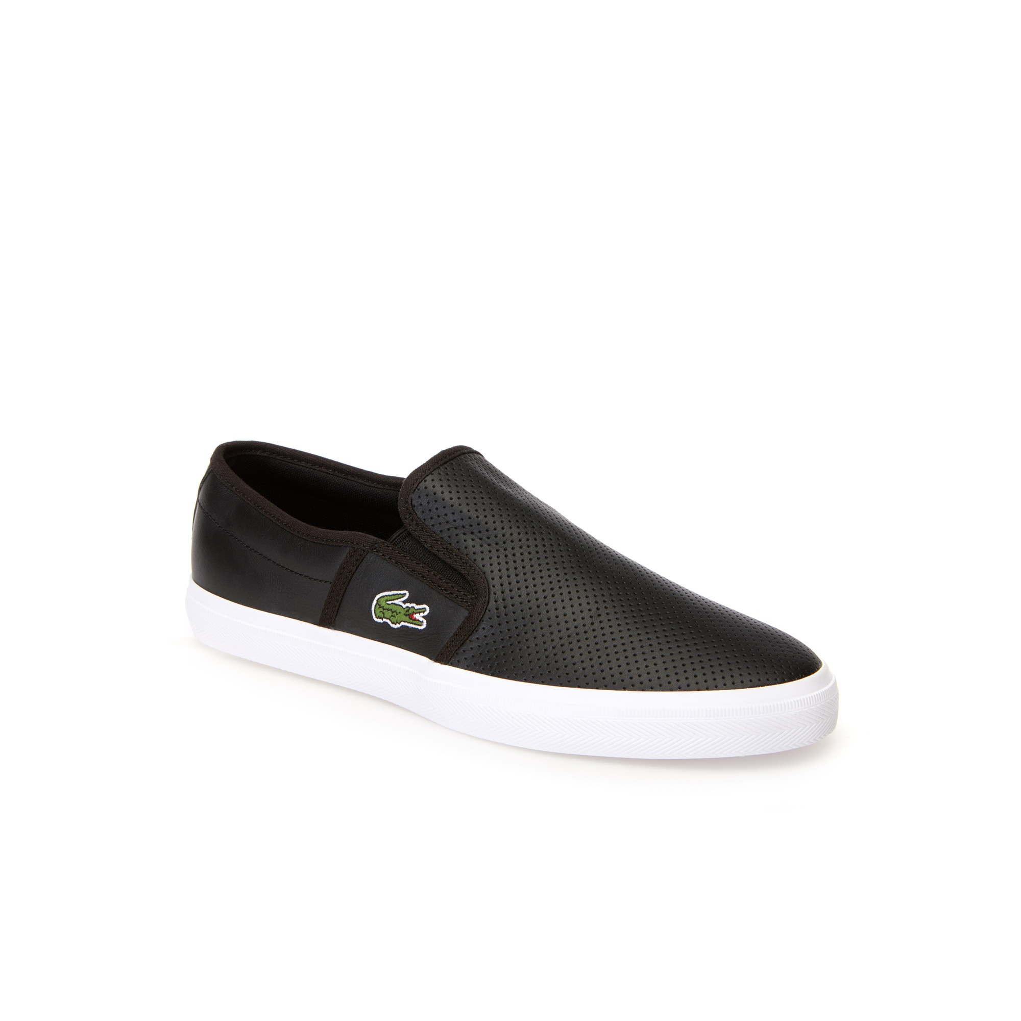 Men's Gazon Leather Slip-ons | LACOSTE
