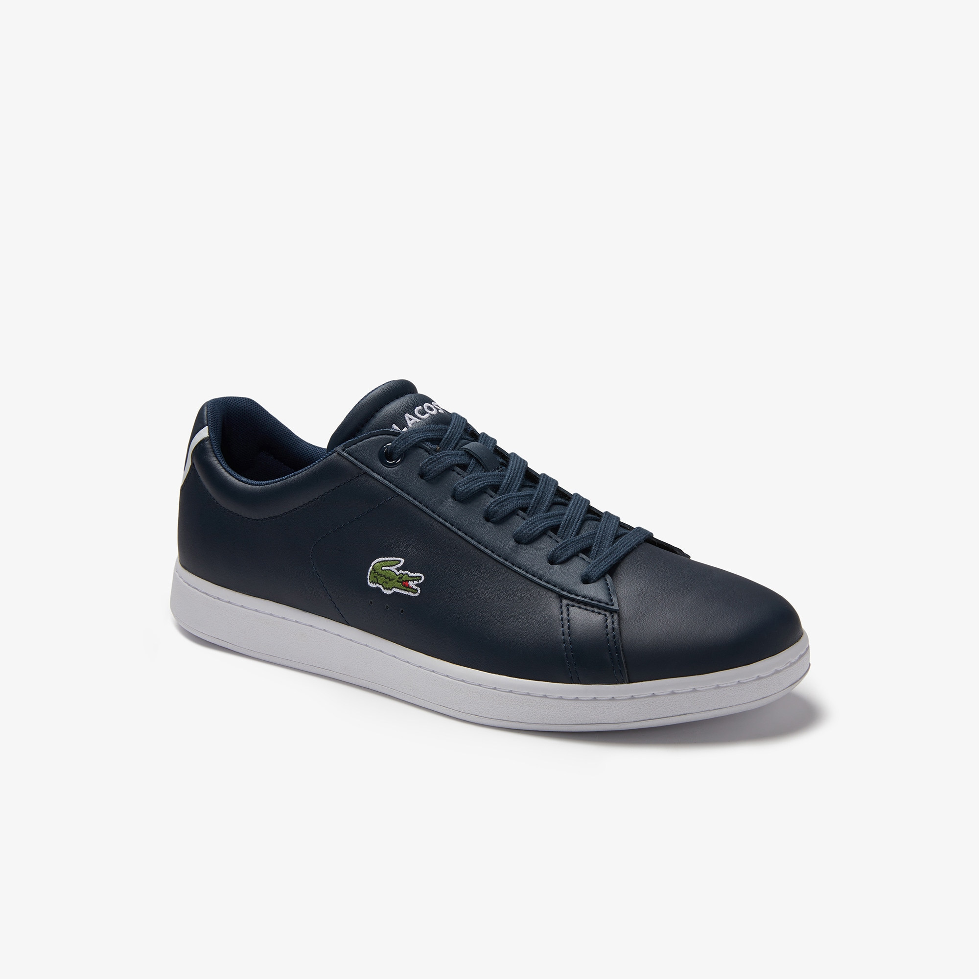 Lacoste MEN'S CARNABY EVO BL LEATHER TRAINERS SvlBmYJElD