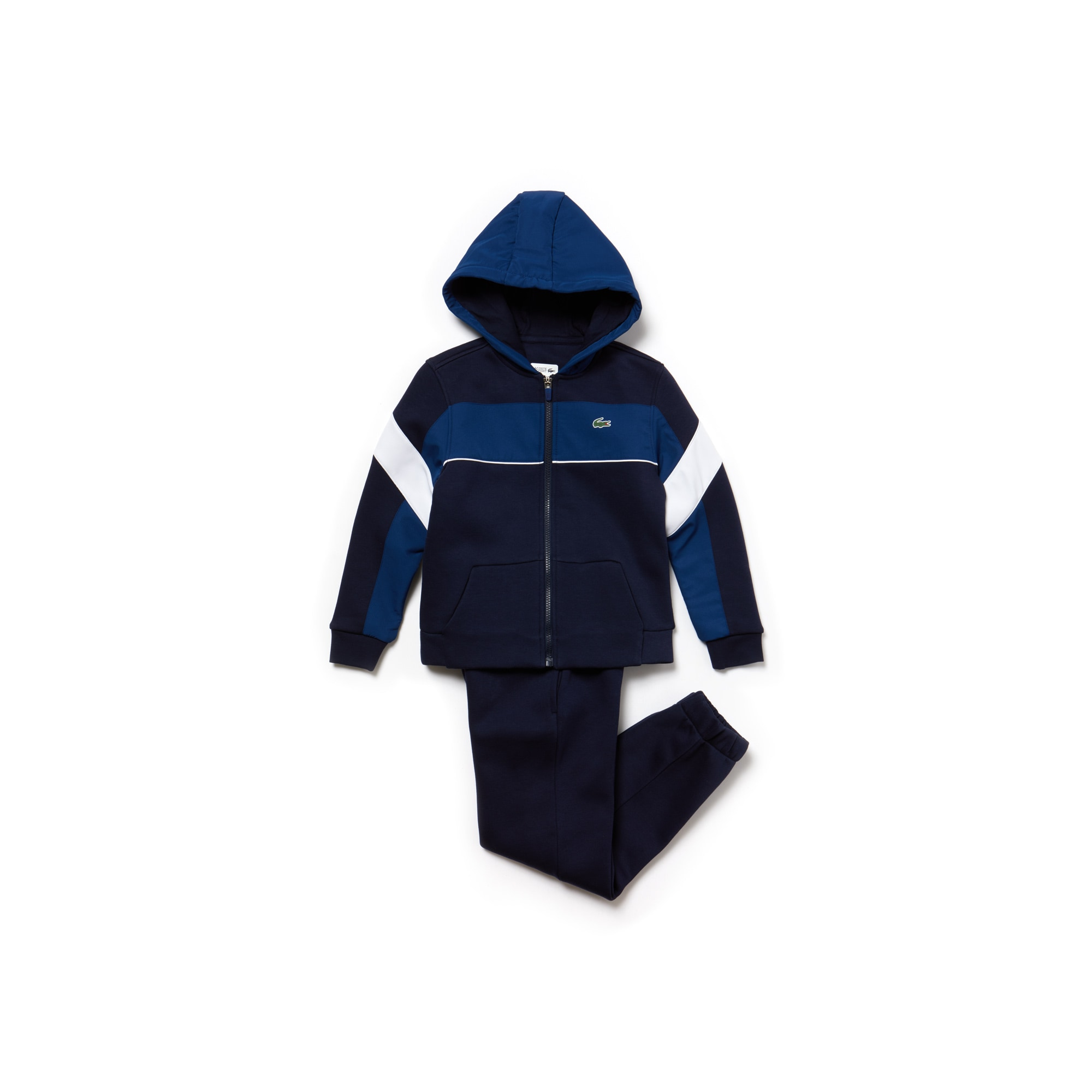 Boys' SPORT Fleece And Taffeta Tennis Tracksuit