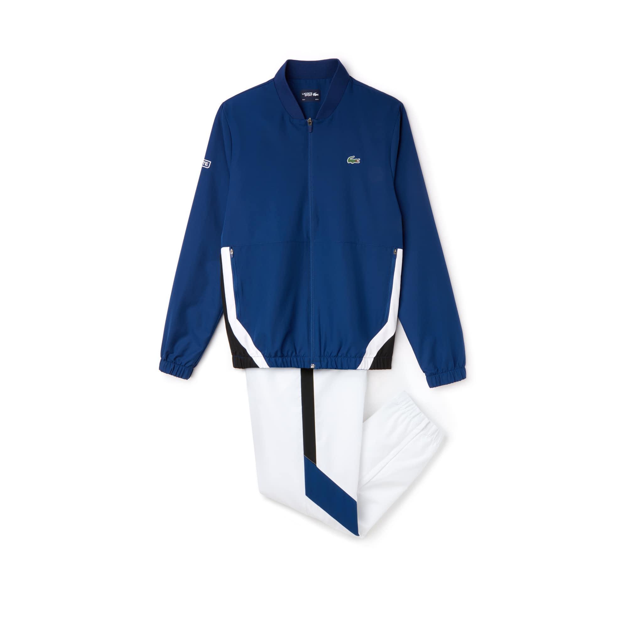 Men's SPORT Colorblock Taffeta Tennis Tracksuit