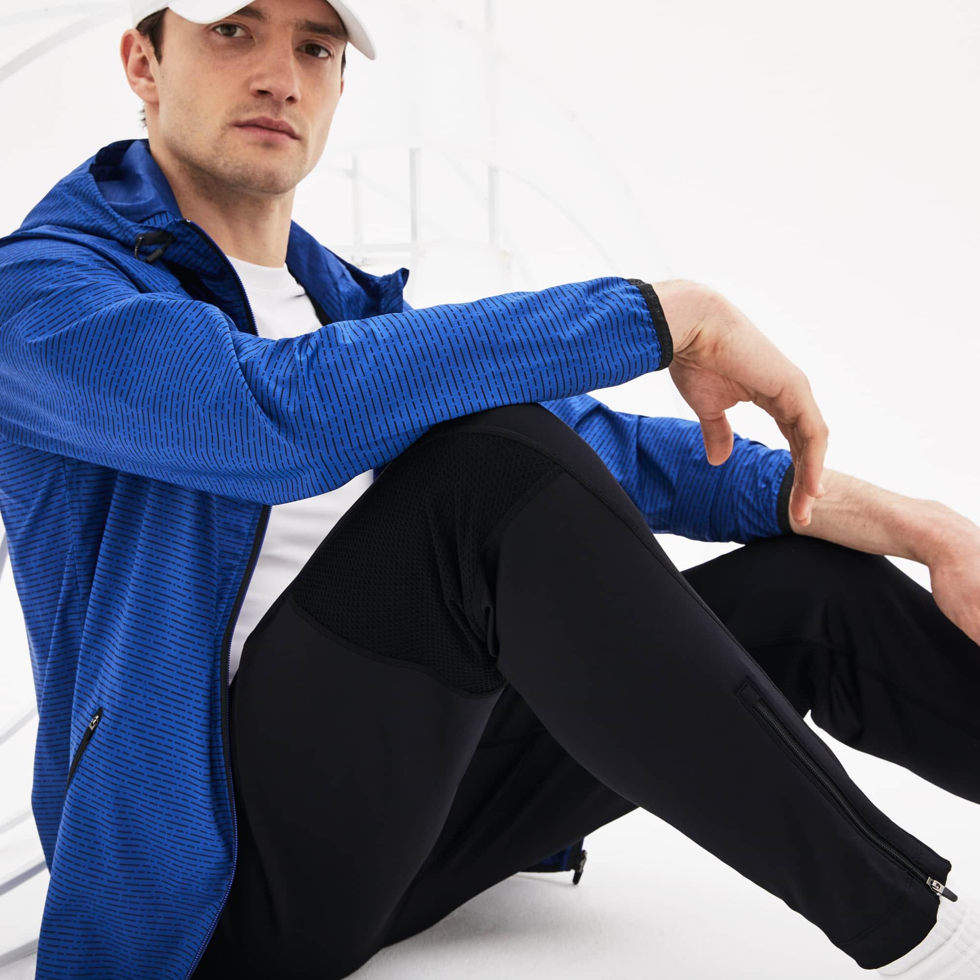 Men's Lacoste SPORT Tennis trackpants in technical jersey
