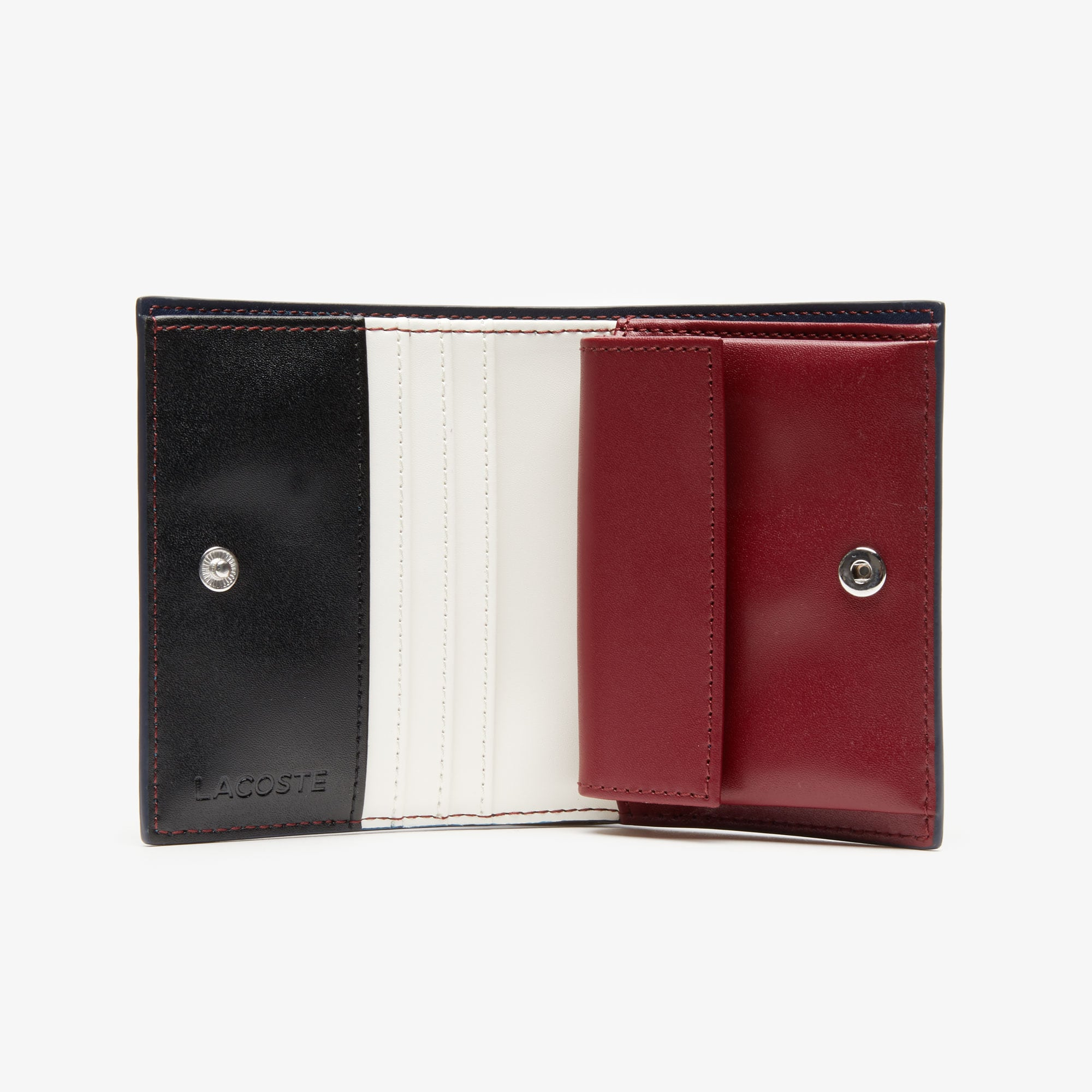 Women's Chantaco Nœud Small Piqué Leather Snap Coin Pouch