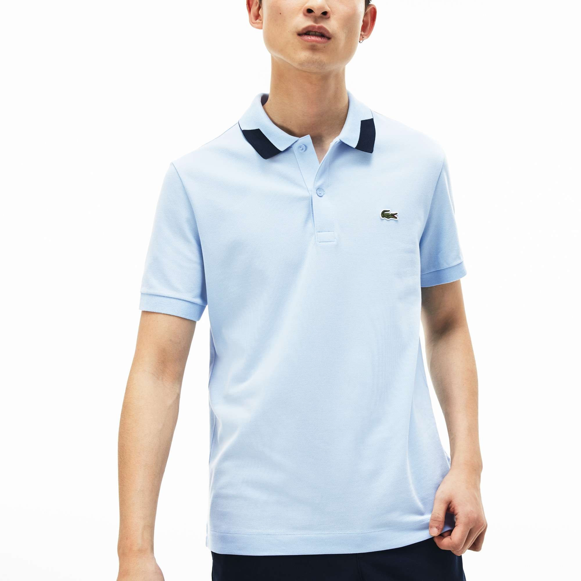 Men's Slim Fit Stretch Polo Shirt