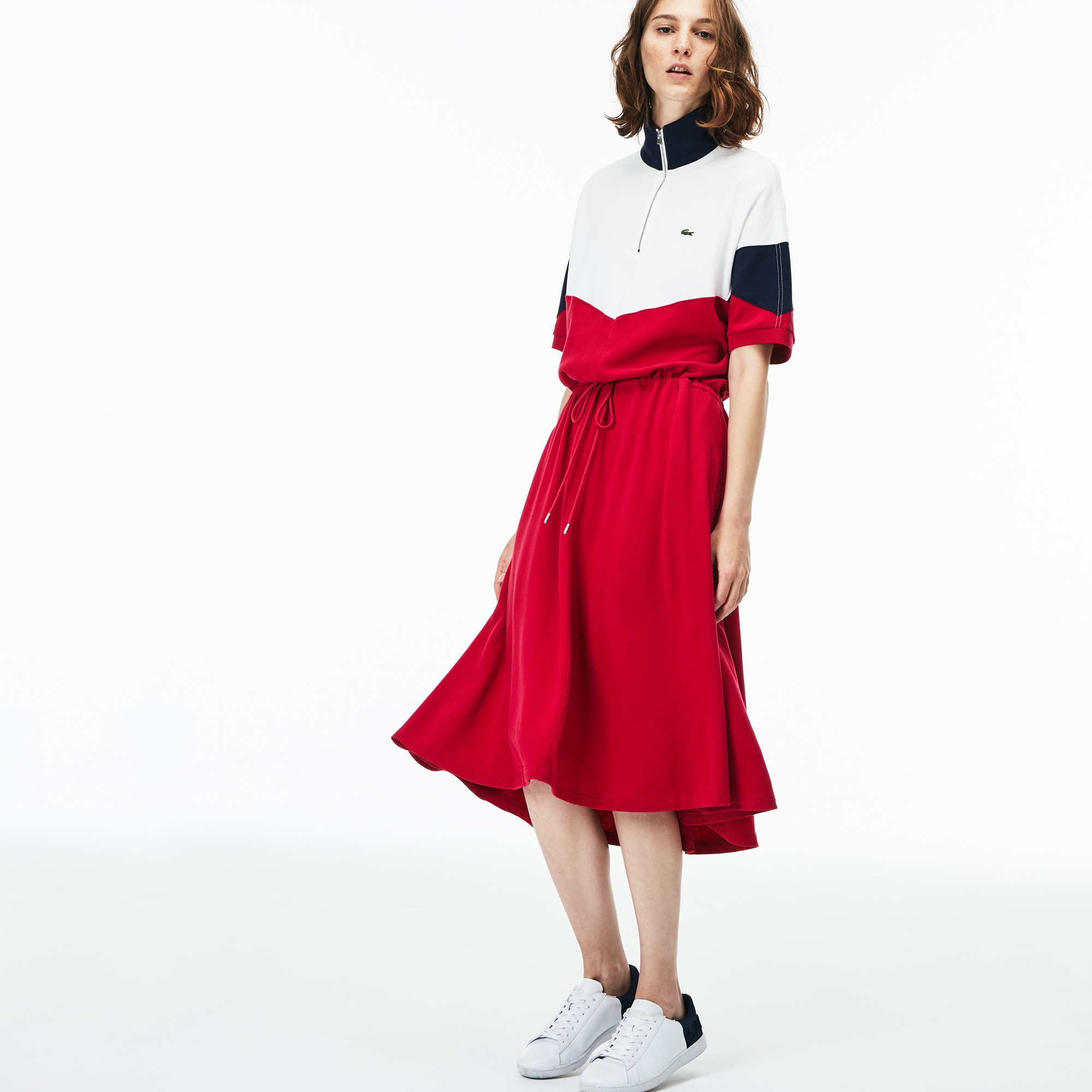 Women S Ed Colorblock Terrycloth Piqué Polo
