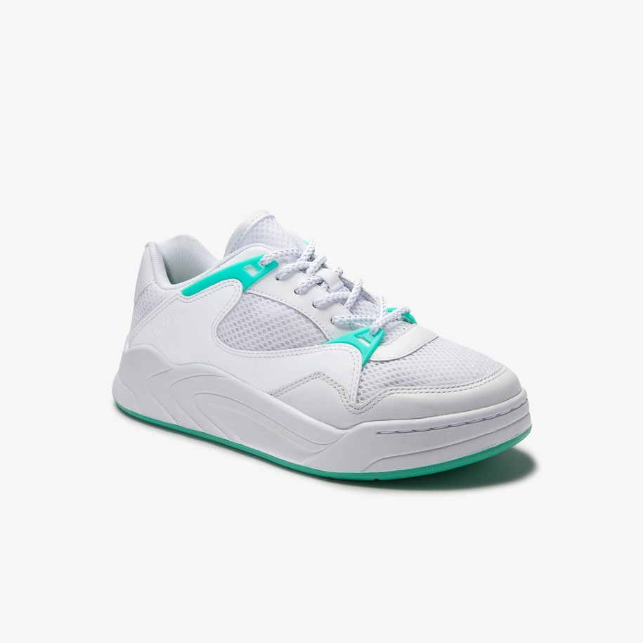 Women's Court Slam Dynamic Textile and Leather Trainers
