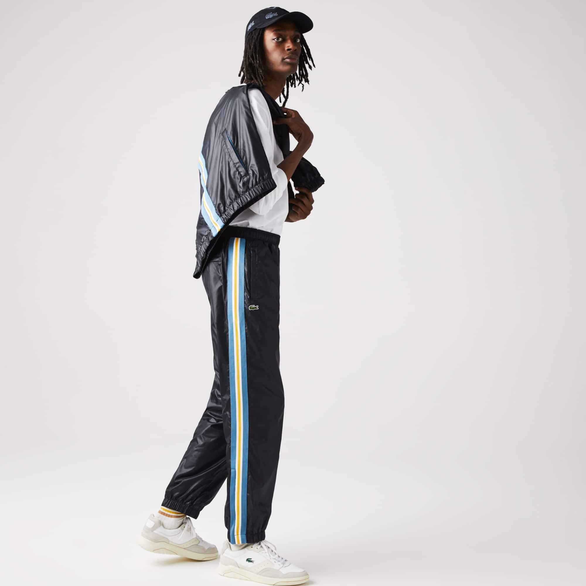 라코스테 트랙 팬츠 Lacoste Men's Heritage Water-Resistant Track Pants