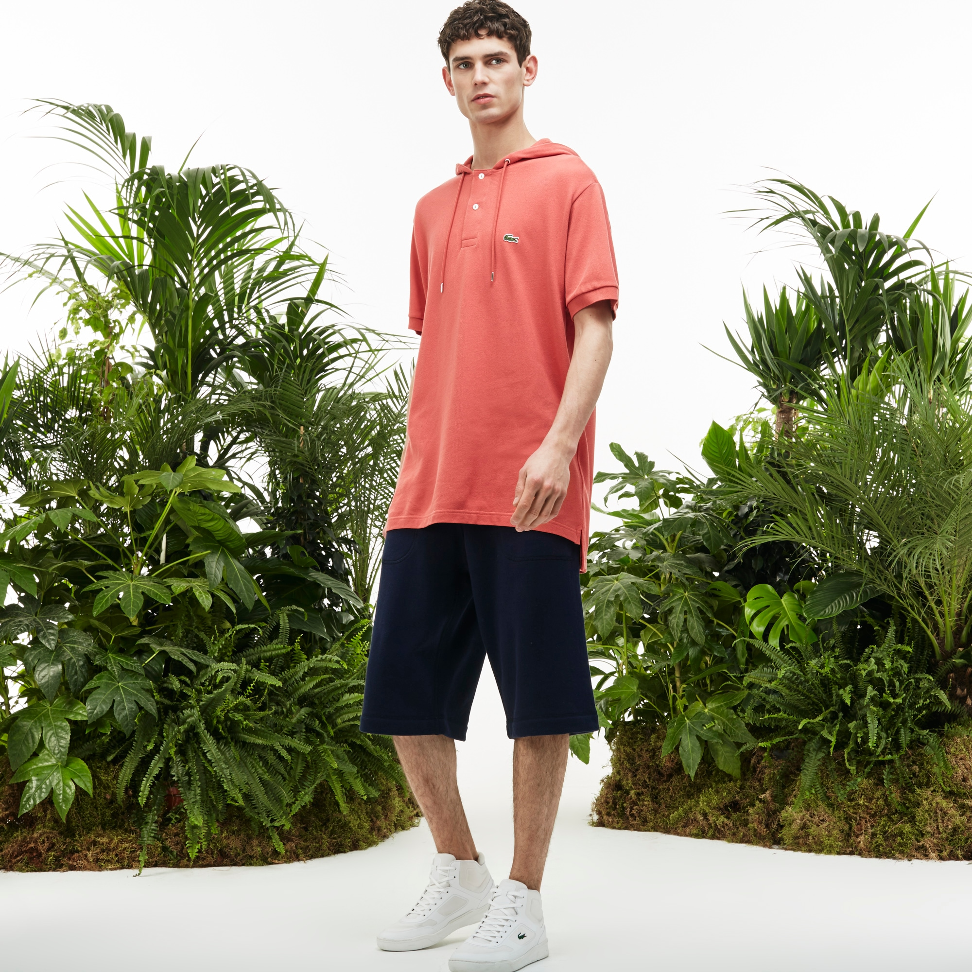 Men's Fashion Show Fleece Bermudas