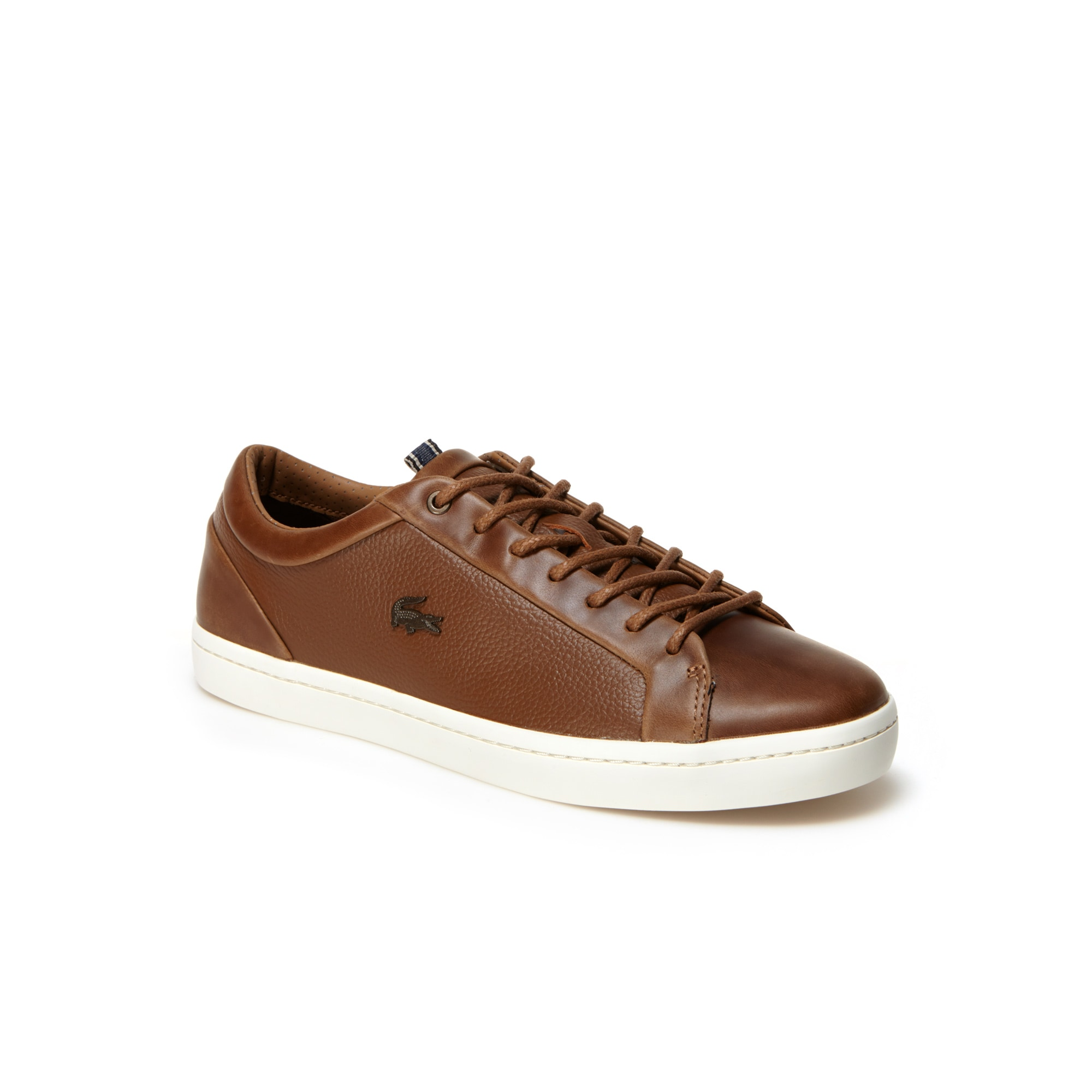 Men's Straightset Leather Sneakers