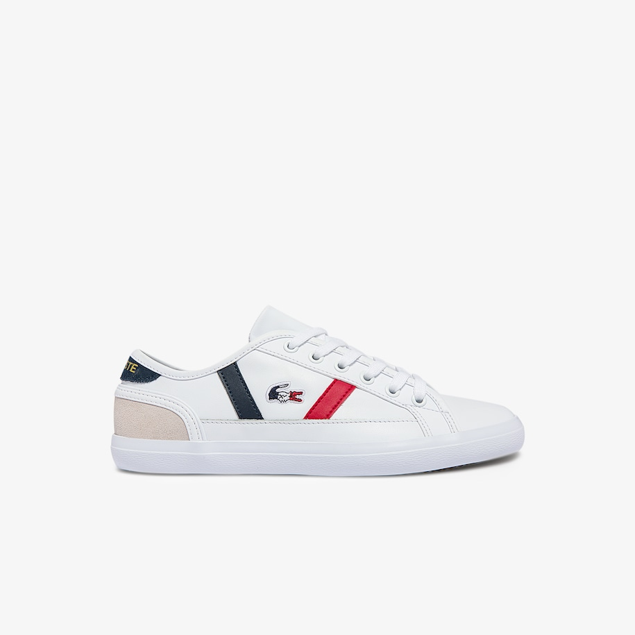 Women's Sideline Tricolore Leather Sneakers