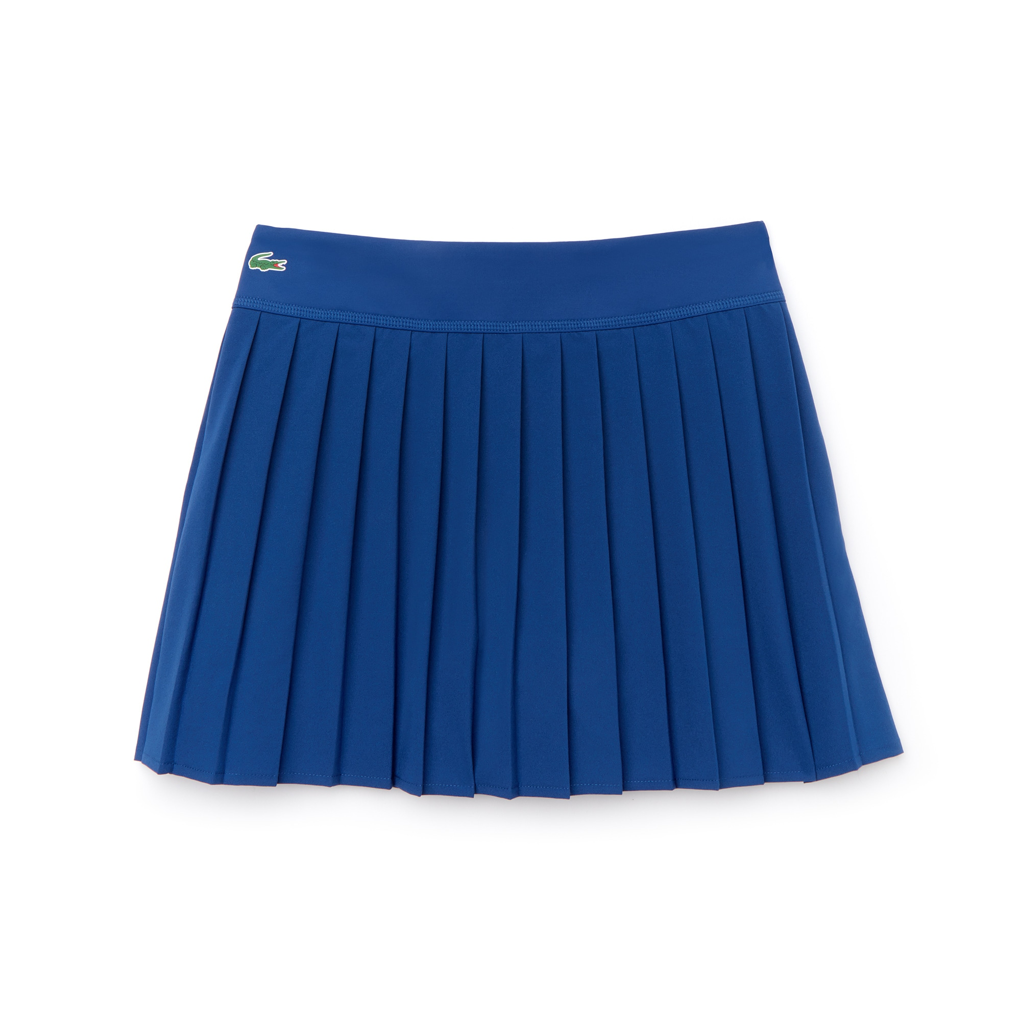 Womens 라코스테 Lacoste SPORT Tennis Technical Mesh Pleated Skirt,navy blue / navy blue / navy blue