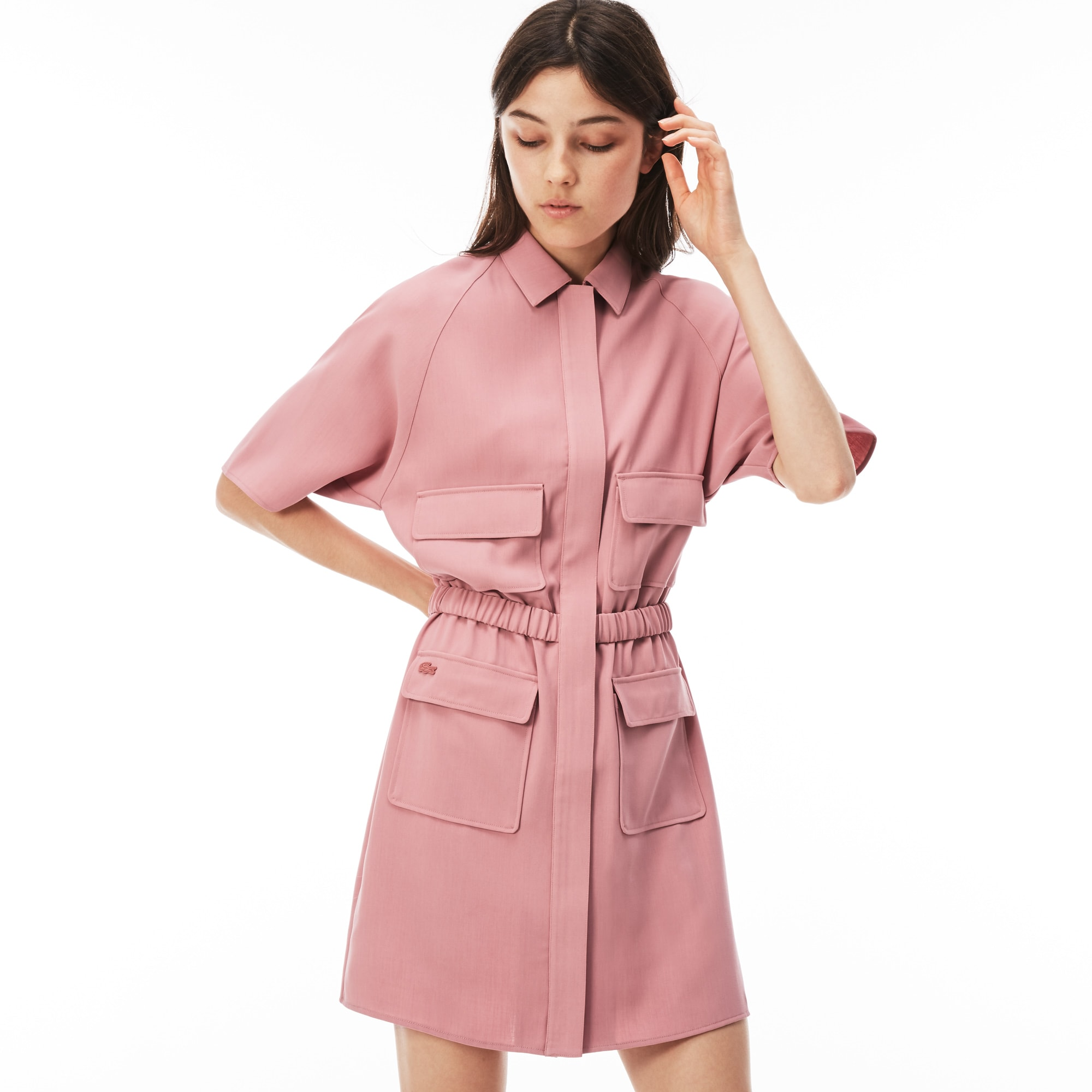 Women's LIVE Crepe Zip Dress