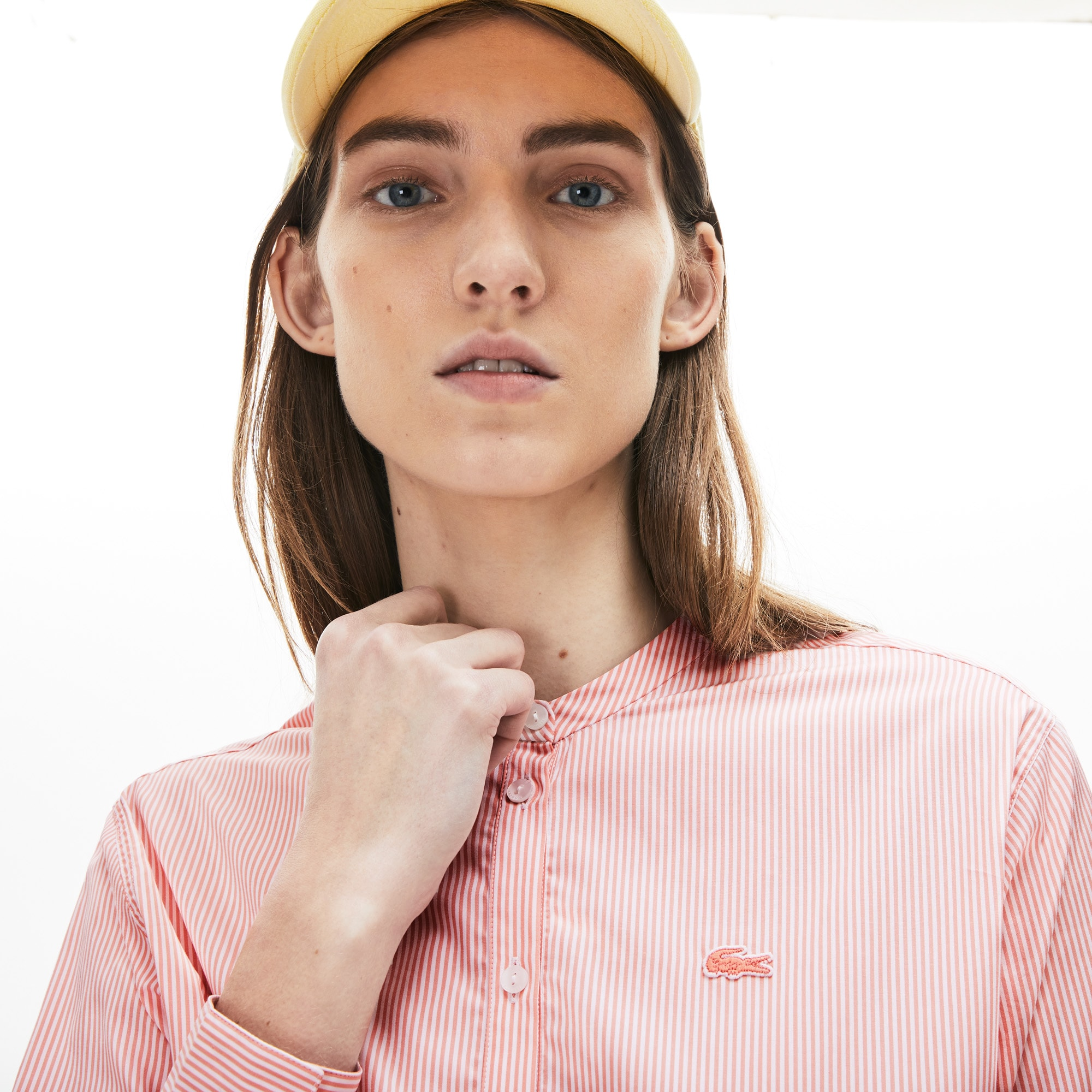 Women's Loose Fit Cotton Poplin Shirt