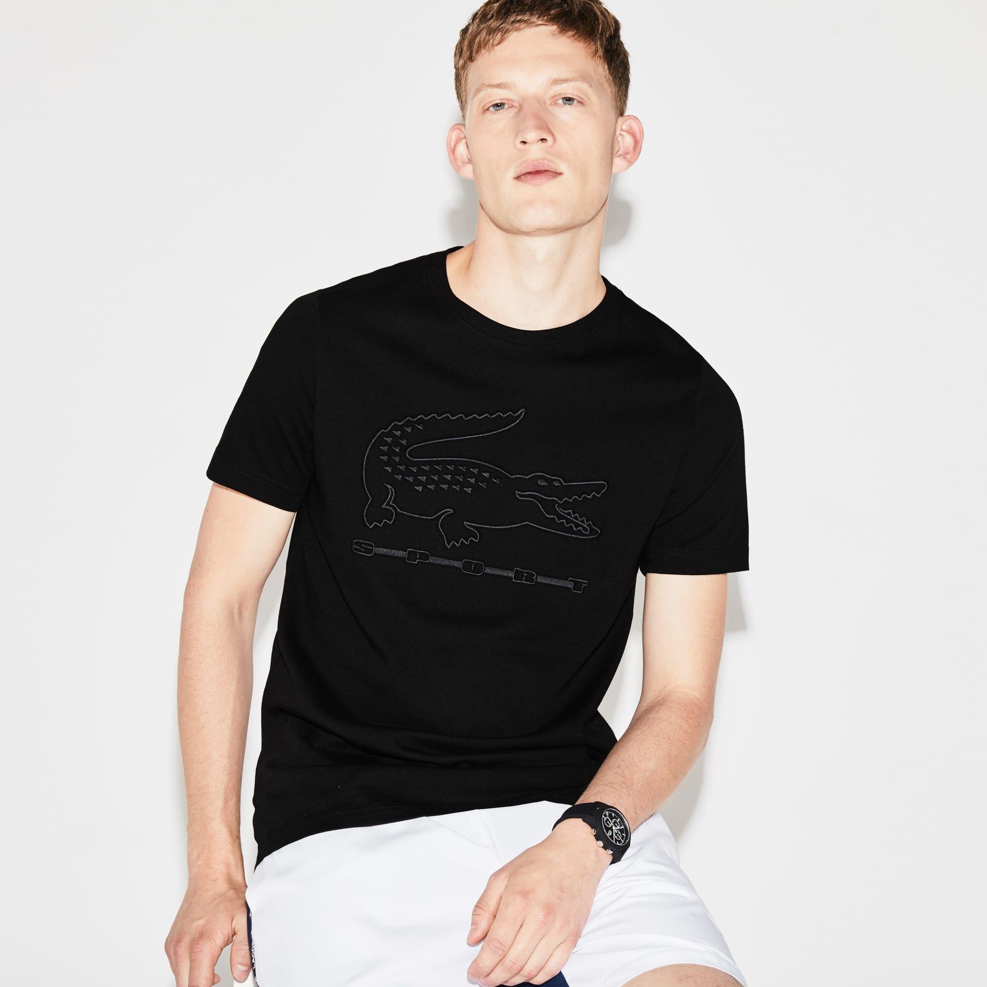 Men's Lacoste SPORT Tennis Embroidery Tech Jersey T-shirt