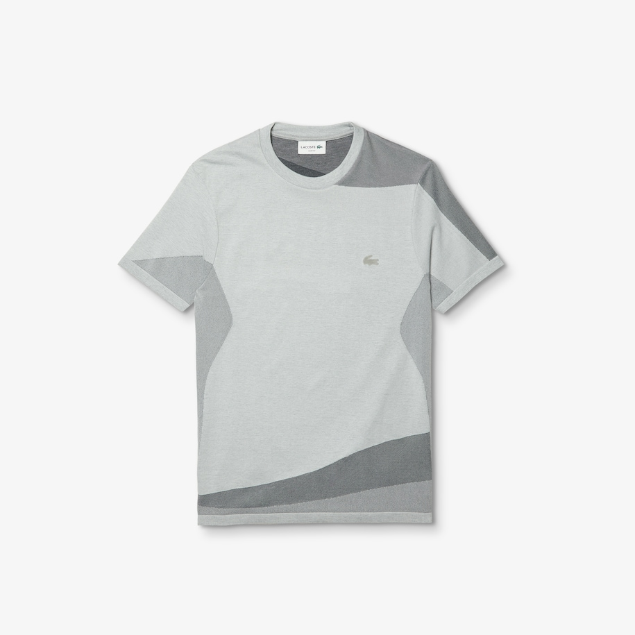 Men's Motion Slim Fit Mixed-Stitch T-shirt