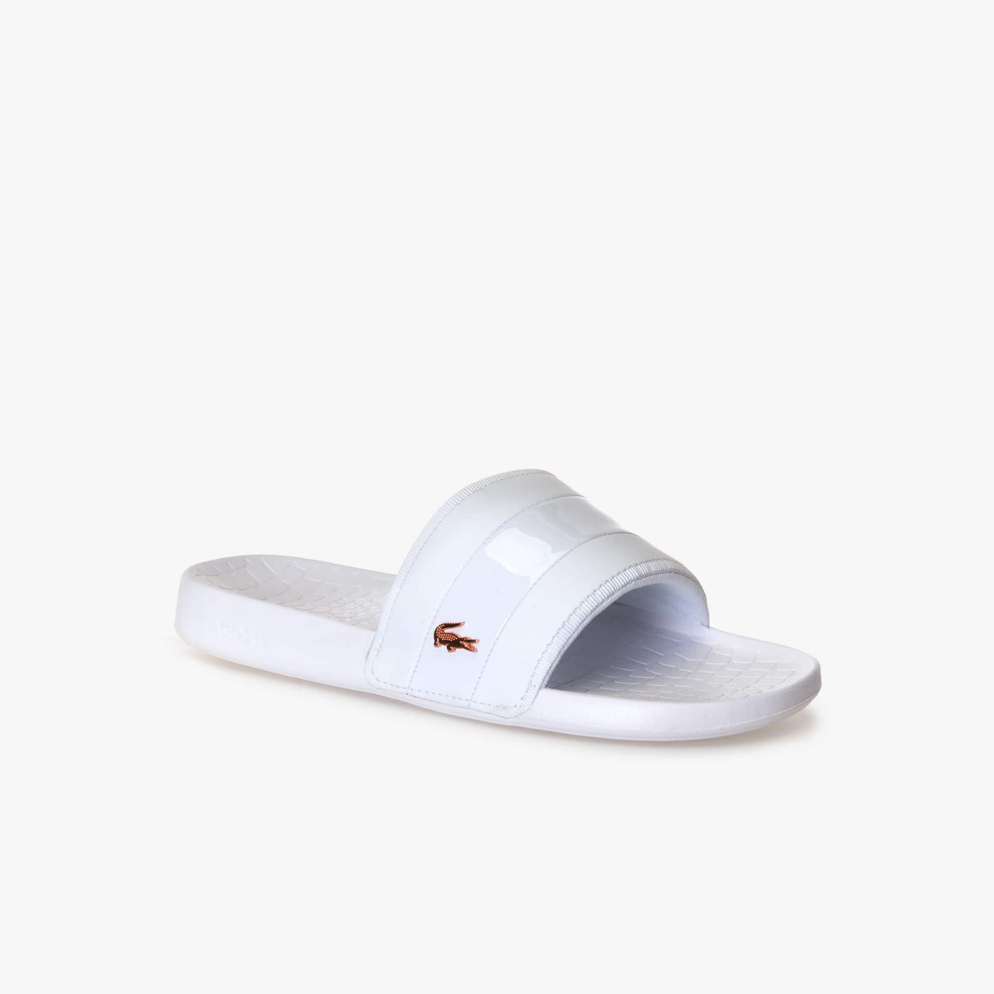 fde1a73a61eaa9 ... Sale best shoes 82c3a 968a0  Women s Fraisier Leather Slides LACOSTE  lowest discount a529f a16c8  Exclusive Mens Slides Flip Flops ...
