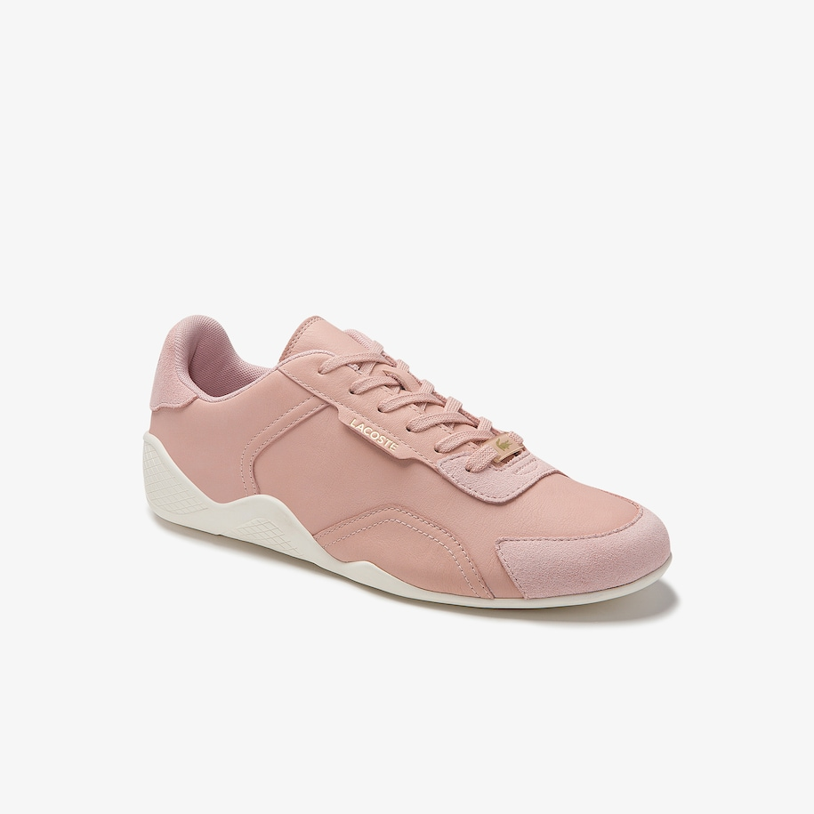 Women's Hapona Textured Leather Trainers