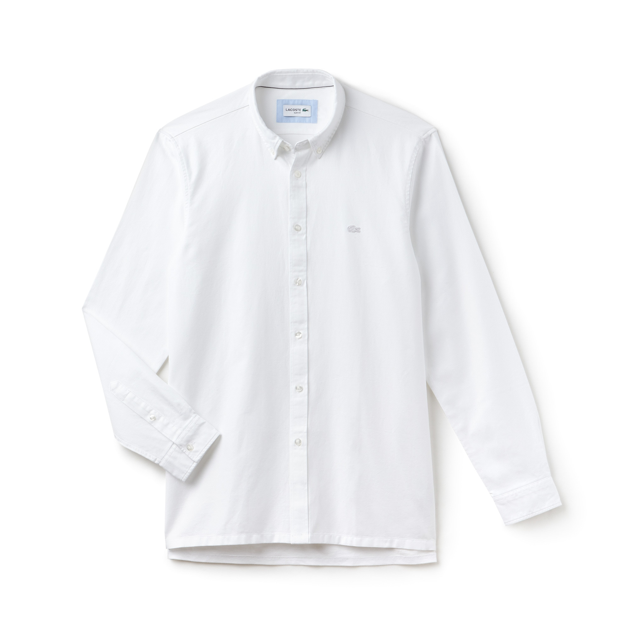 Men's Slim Fit Lacoste MOTION Cotton Piqué Shirt