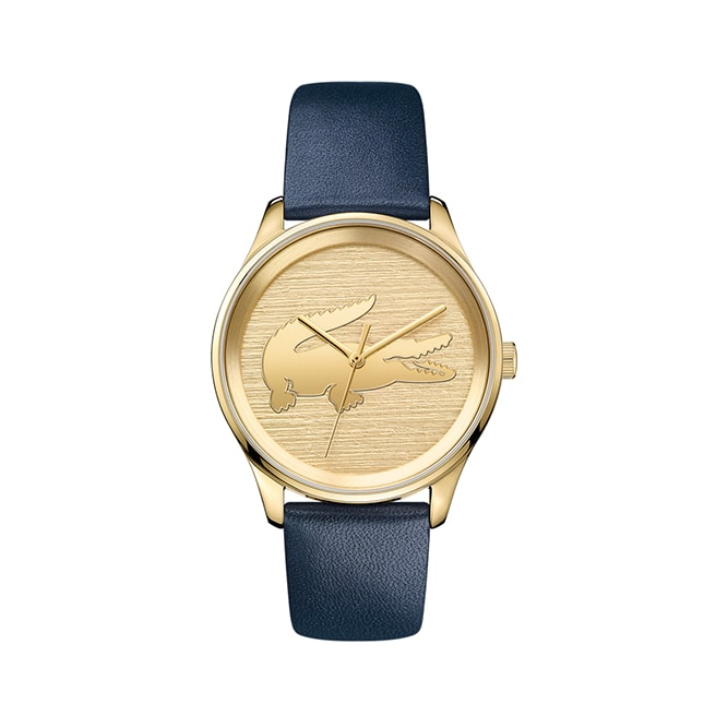 Women's Victoria Blue Leather Strap