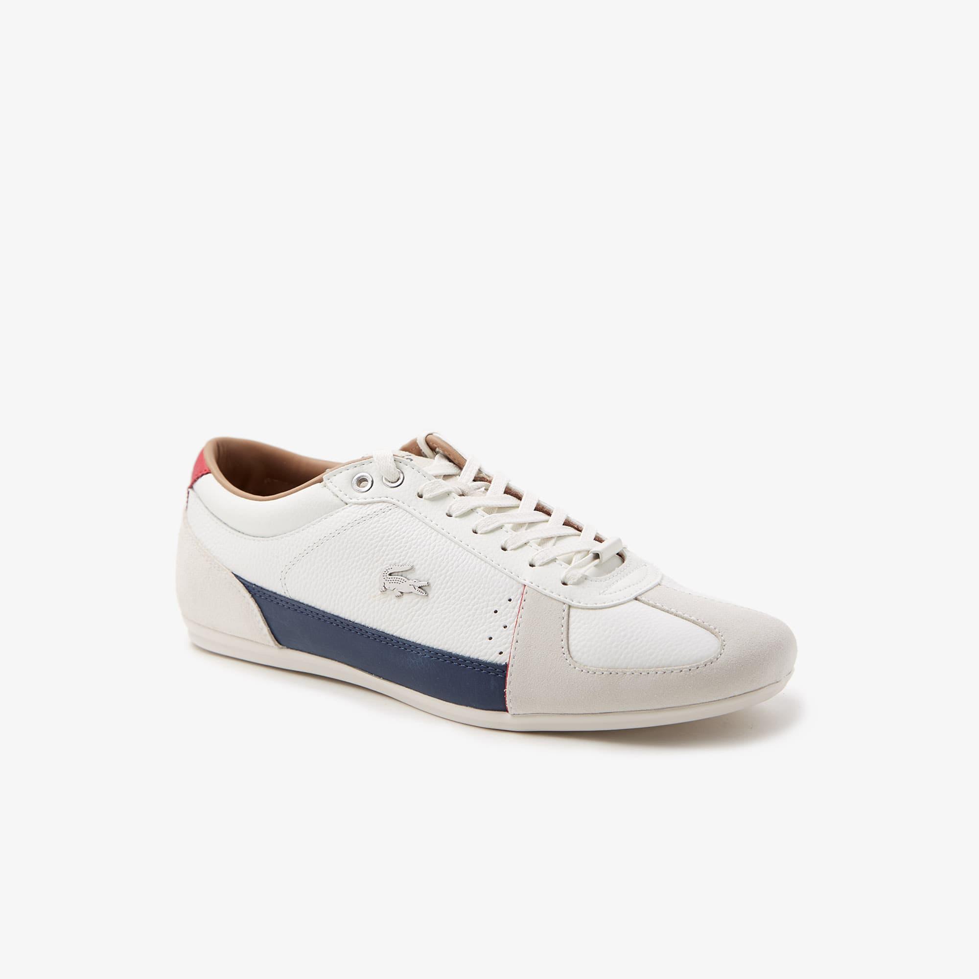 라코스테 에바라 스니커즈 남성용 Lacoste Mens Evara Leather and Suede Sneakers