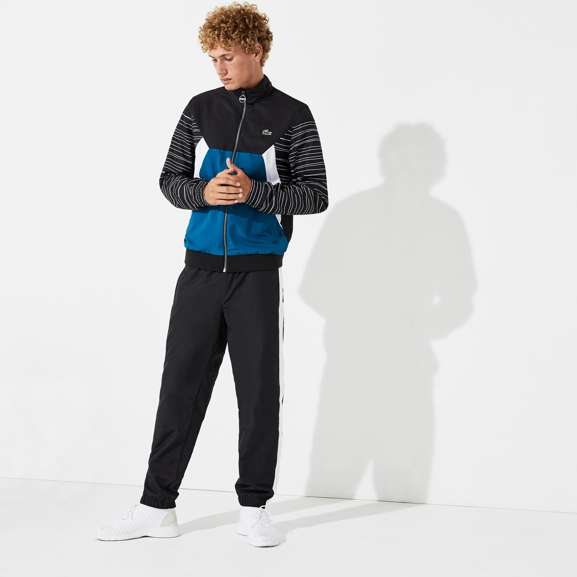 Men's SPORT Color-Blocked Tennis Sweatsuit