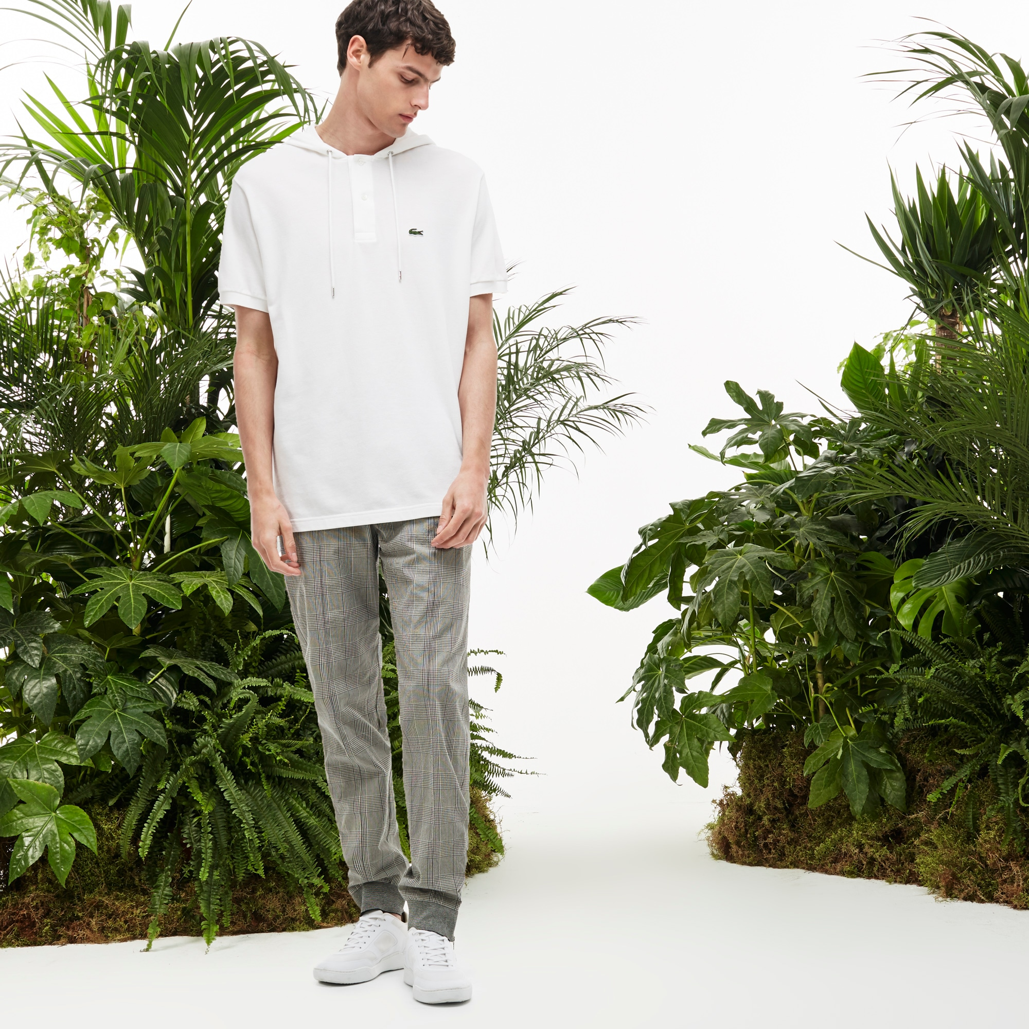 Men's Fashion Show Urban Seersucker Trackpants