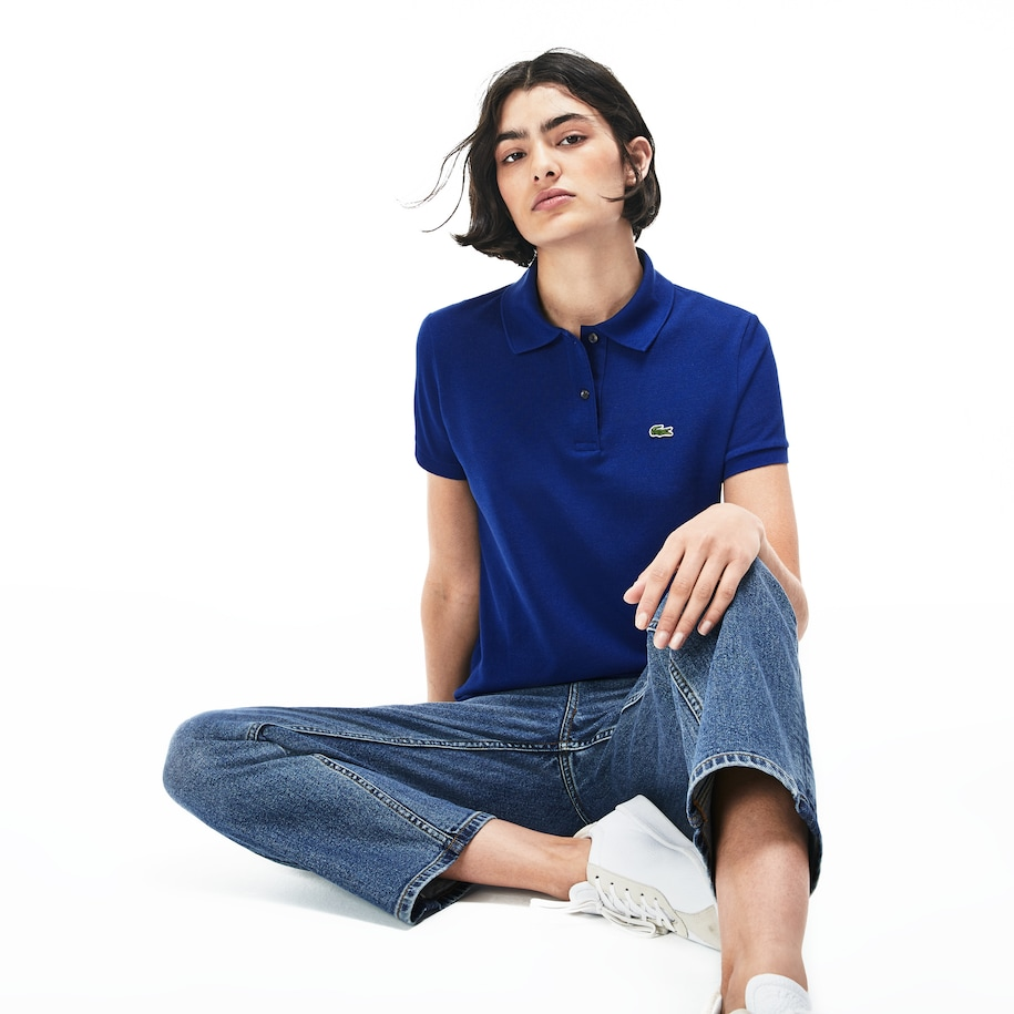 Women's Classic Fit Soft Cotton Petit Piqué Polo