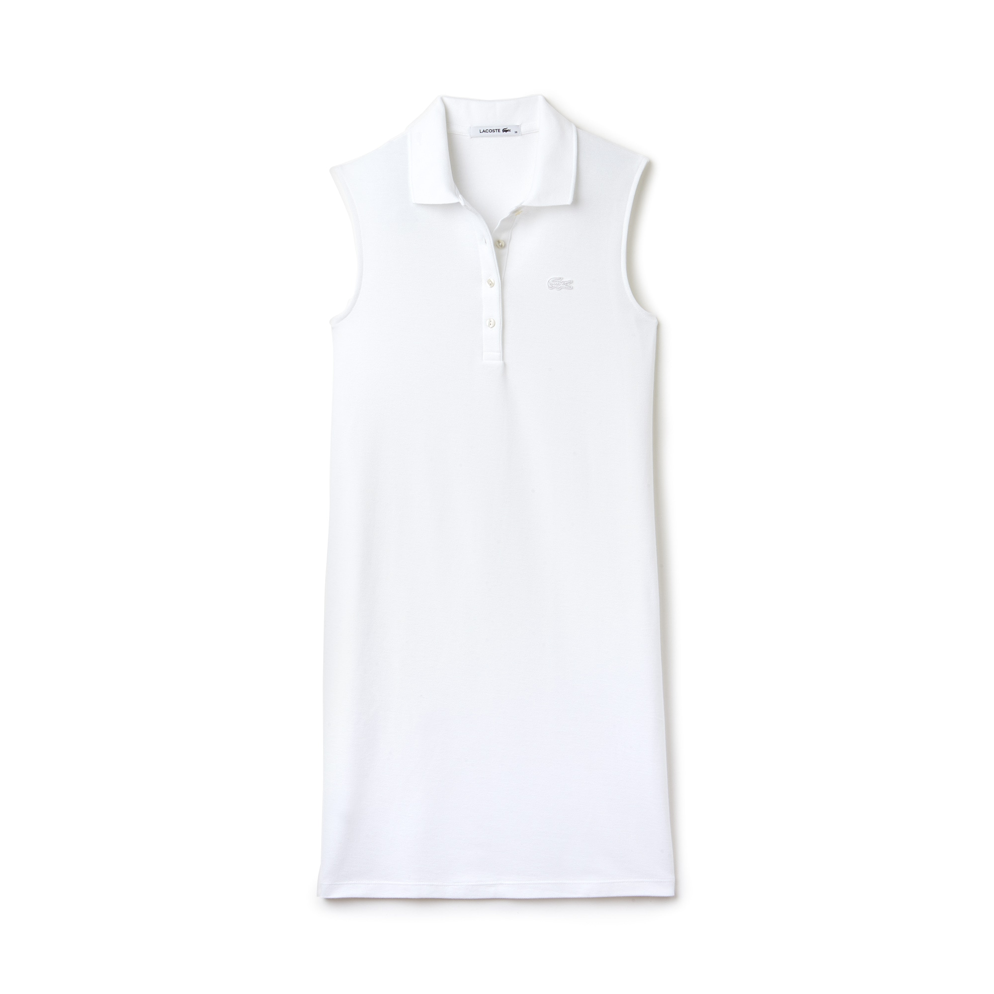 Women's Cotton Micro Piqué Polo Dress
