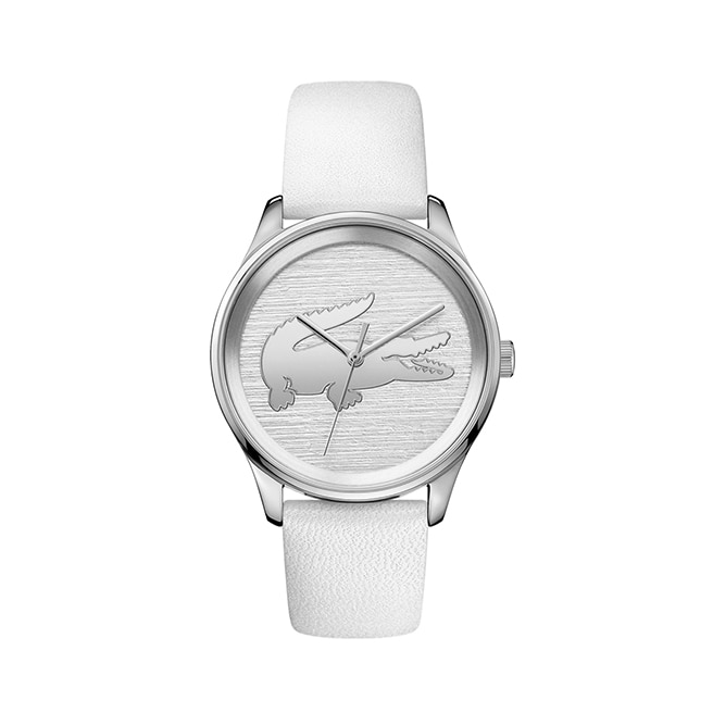 Women's Victoria White Leather Strap
