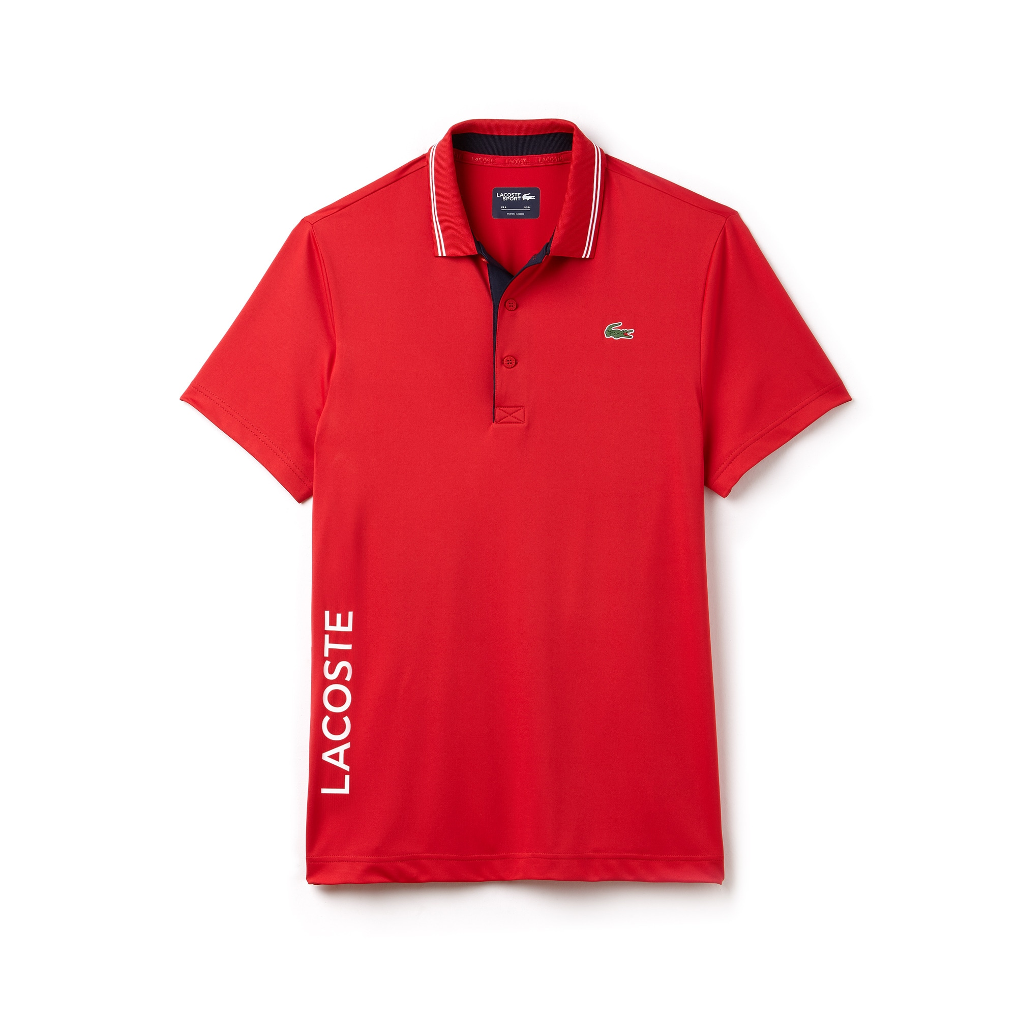 Men's SPORT Lettering Stretch Golf Polo