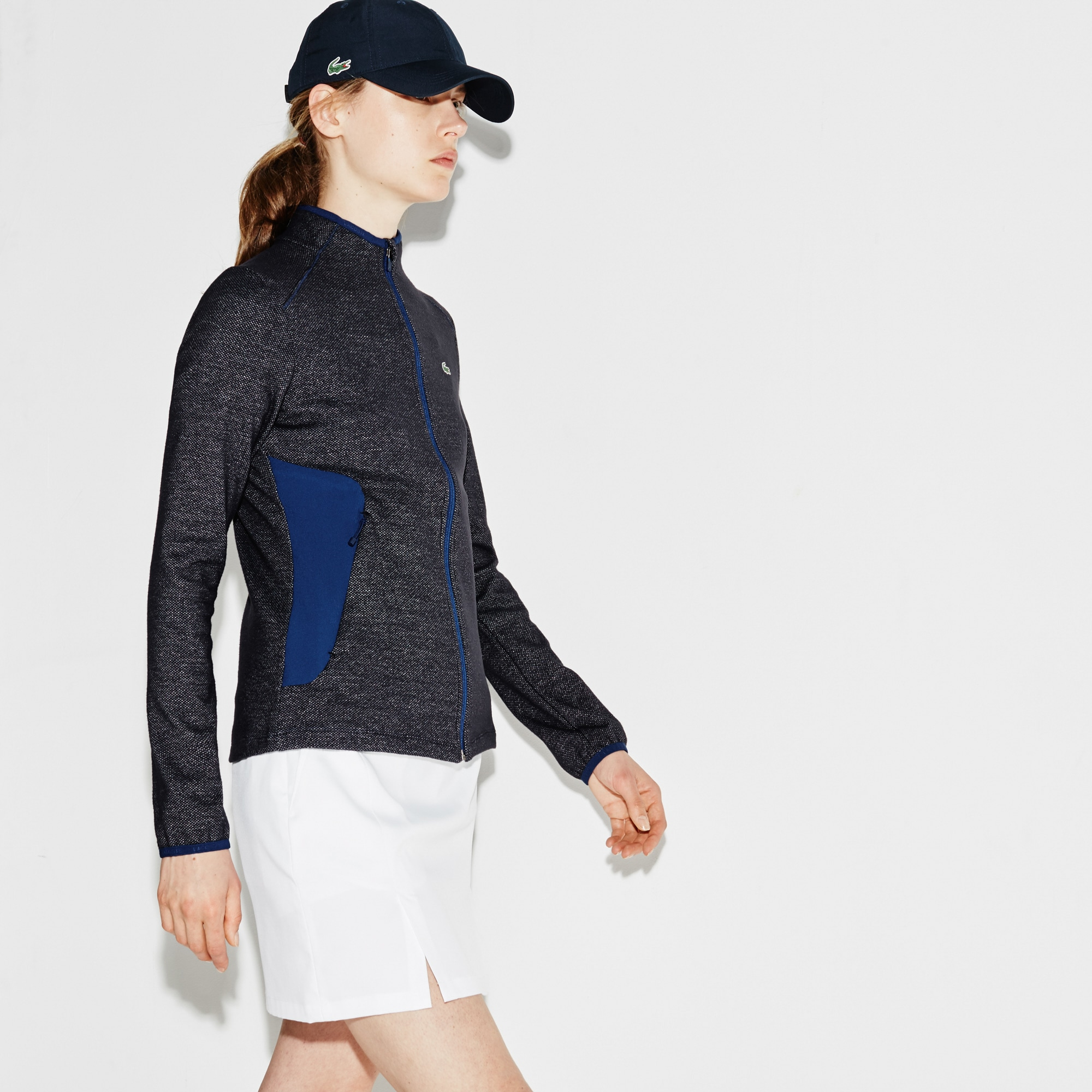Women's  SPORT Golf Stretch Tech Midlayer Zip Sweatshirt