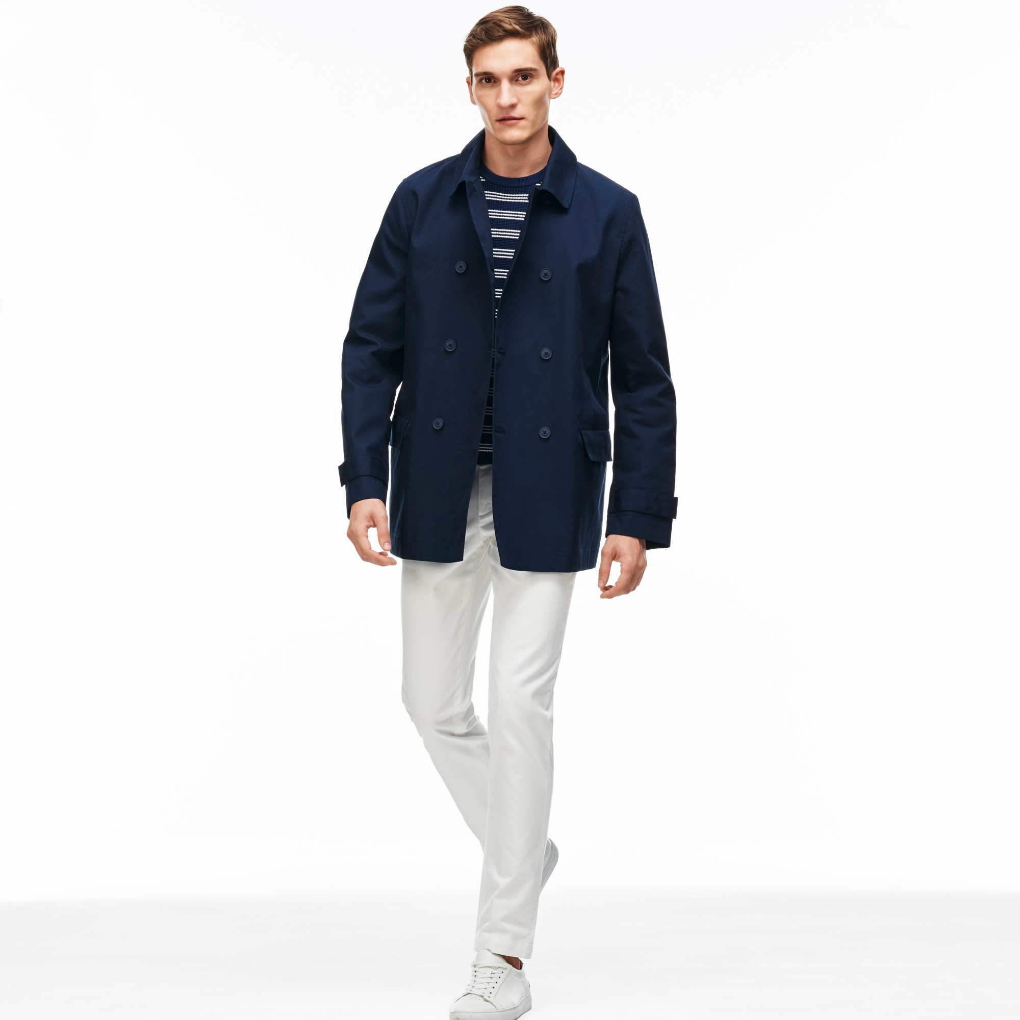 Men's Cotton Poplin Coat