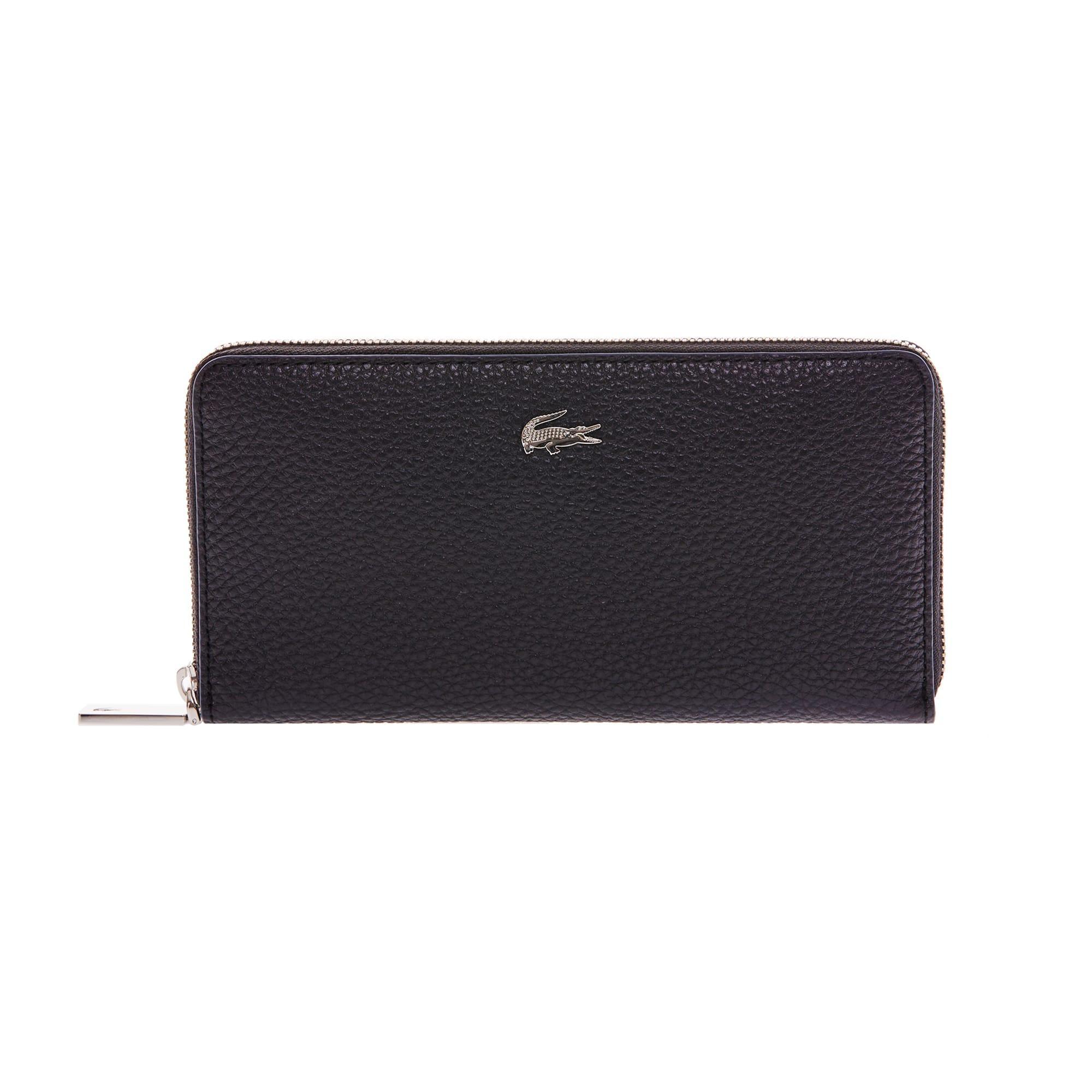 Women's René Leather Zip Twelve-Card Wallet