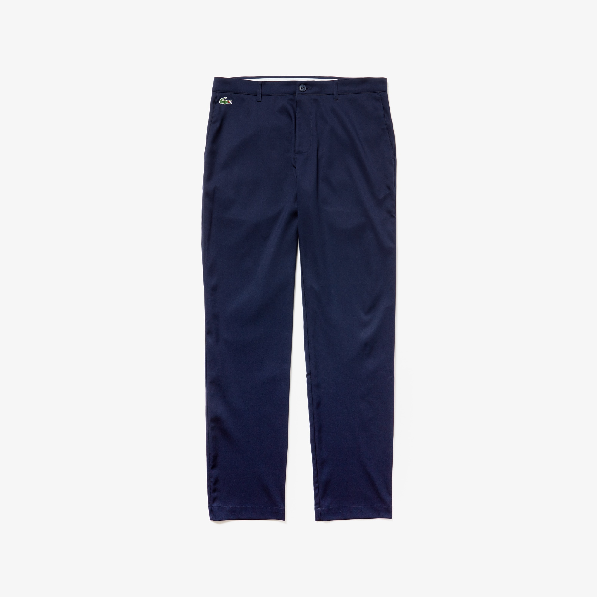 라코스테 Lacoste Mens SPORT Technical Gabardine Golf Chino Pants,navy blue