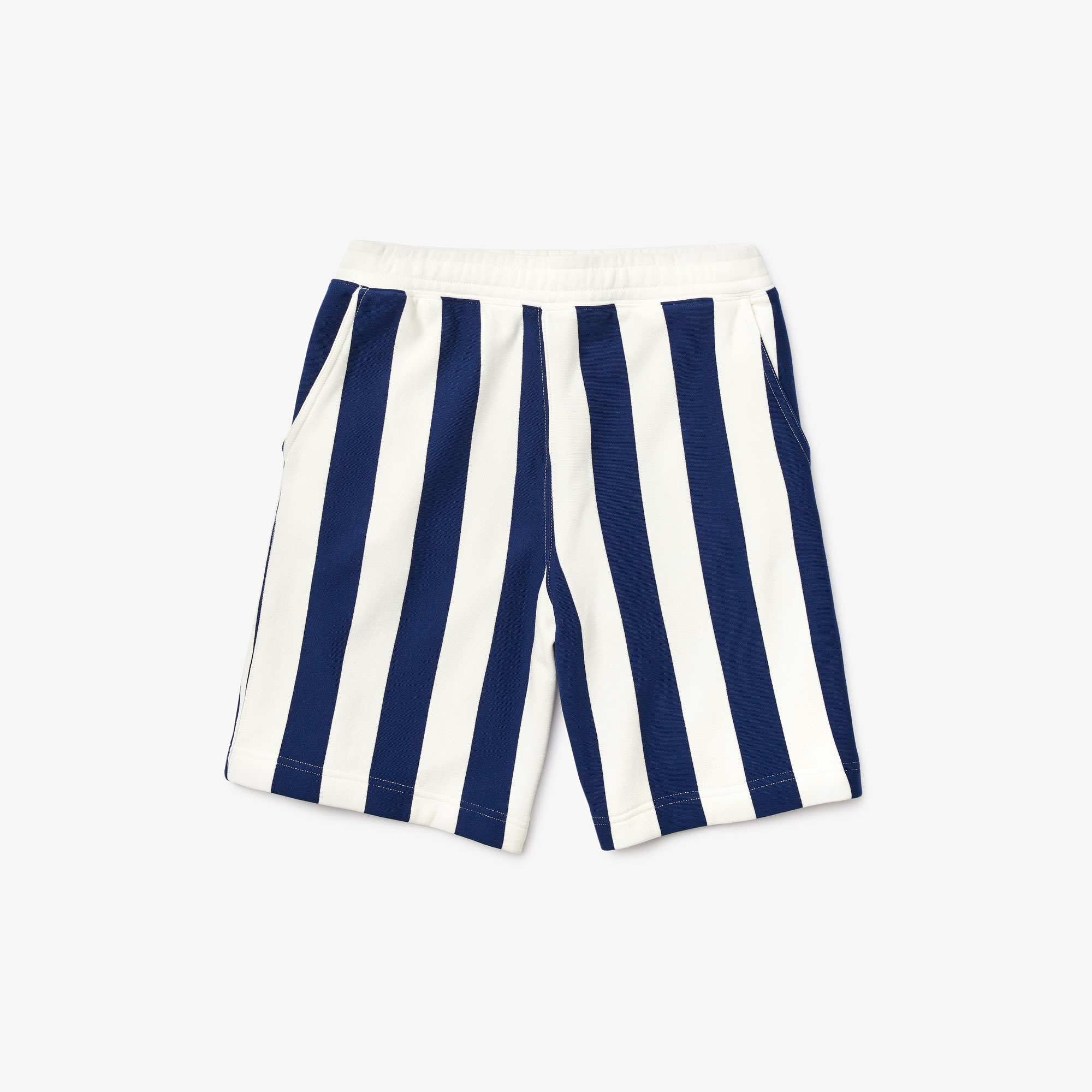 Men's LIVE Striped Fleece Bermuda Shorts