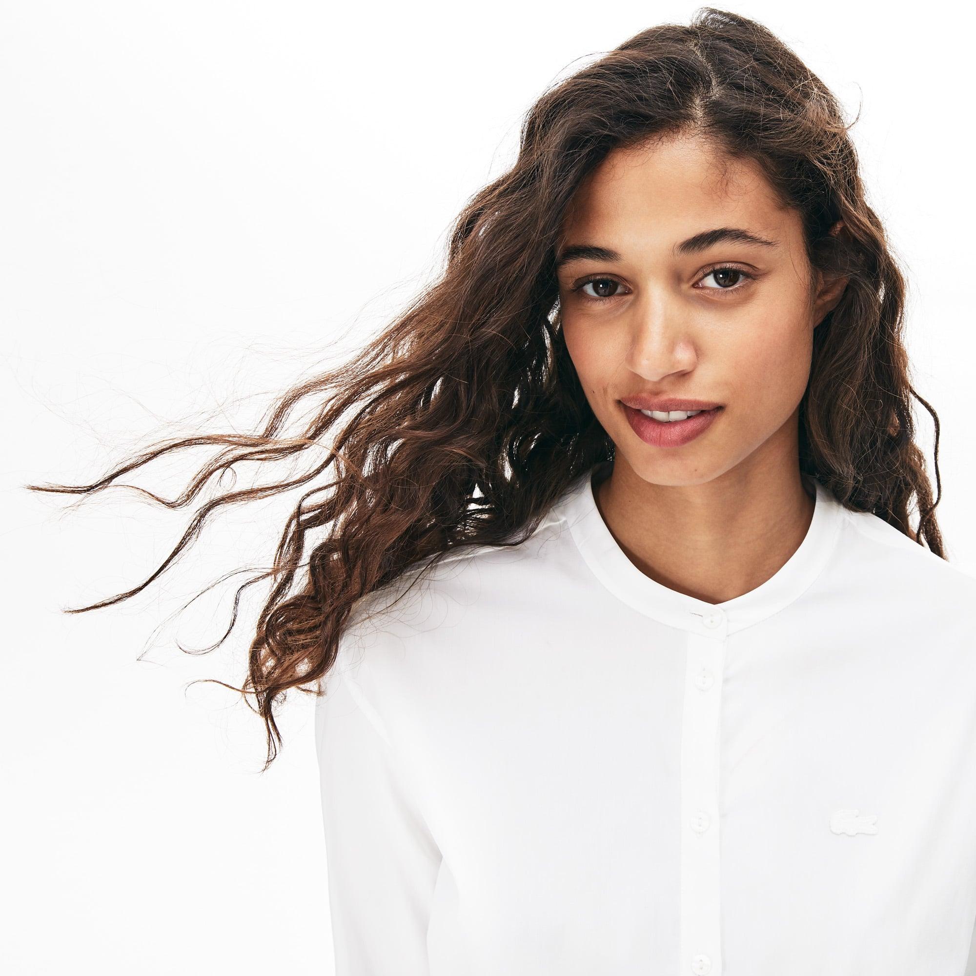 Women's Loose Fit Cotton Poplin Shirt