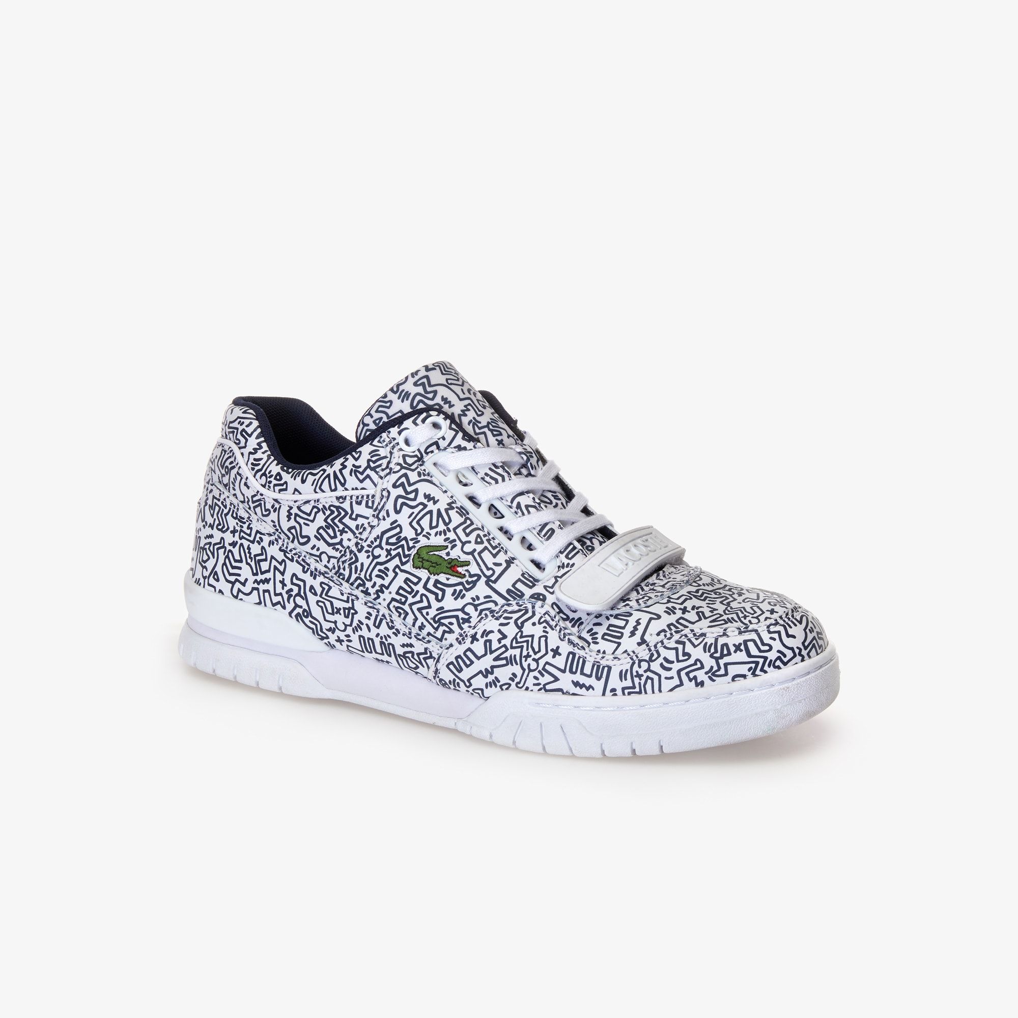2f285ced43 Men's Missouri Keith Haring Leather Sneakers | LACOSTE