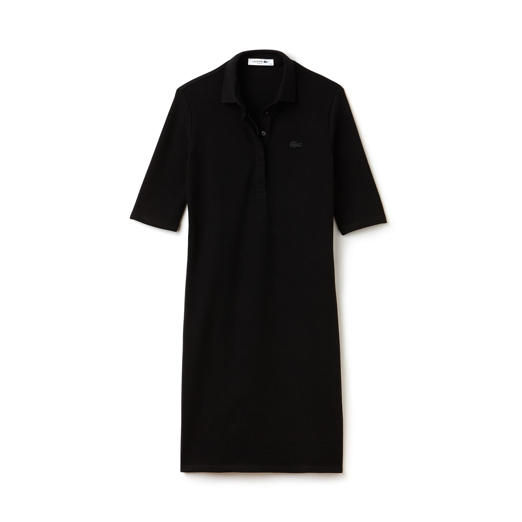 Women's Thick Stretch Cotton Piqué Polo Dress