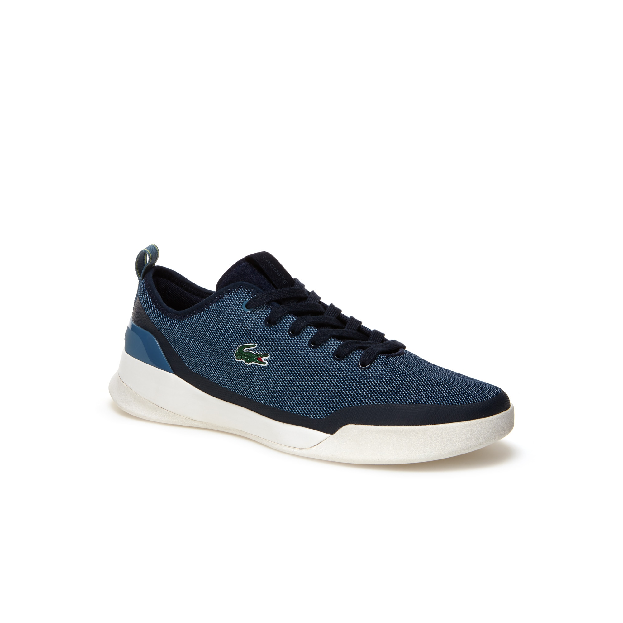 eda657d22238 Lacoste Men S Lt Dual Textile Sneakers In Navy Blue