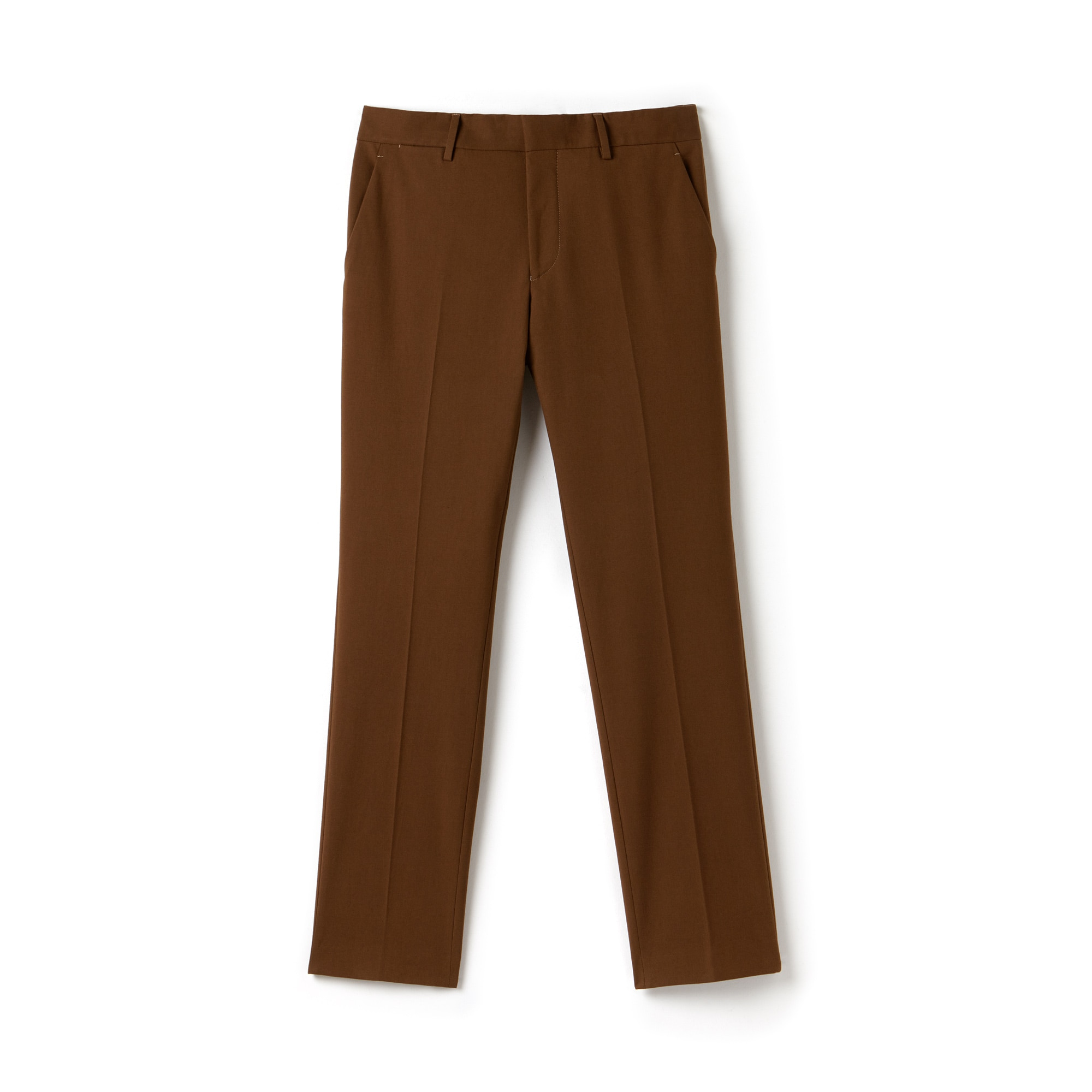 Men's Slim Fit Pleated Stretch Gabardine Chino Pants