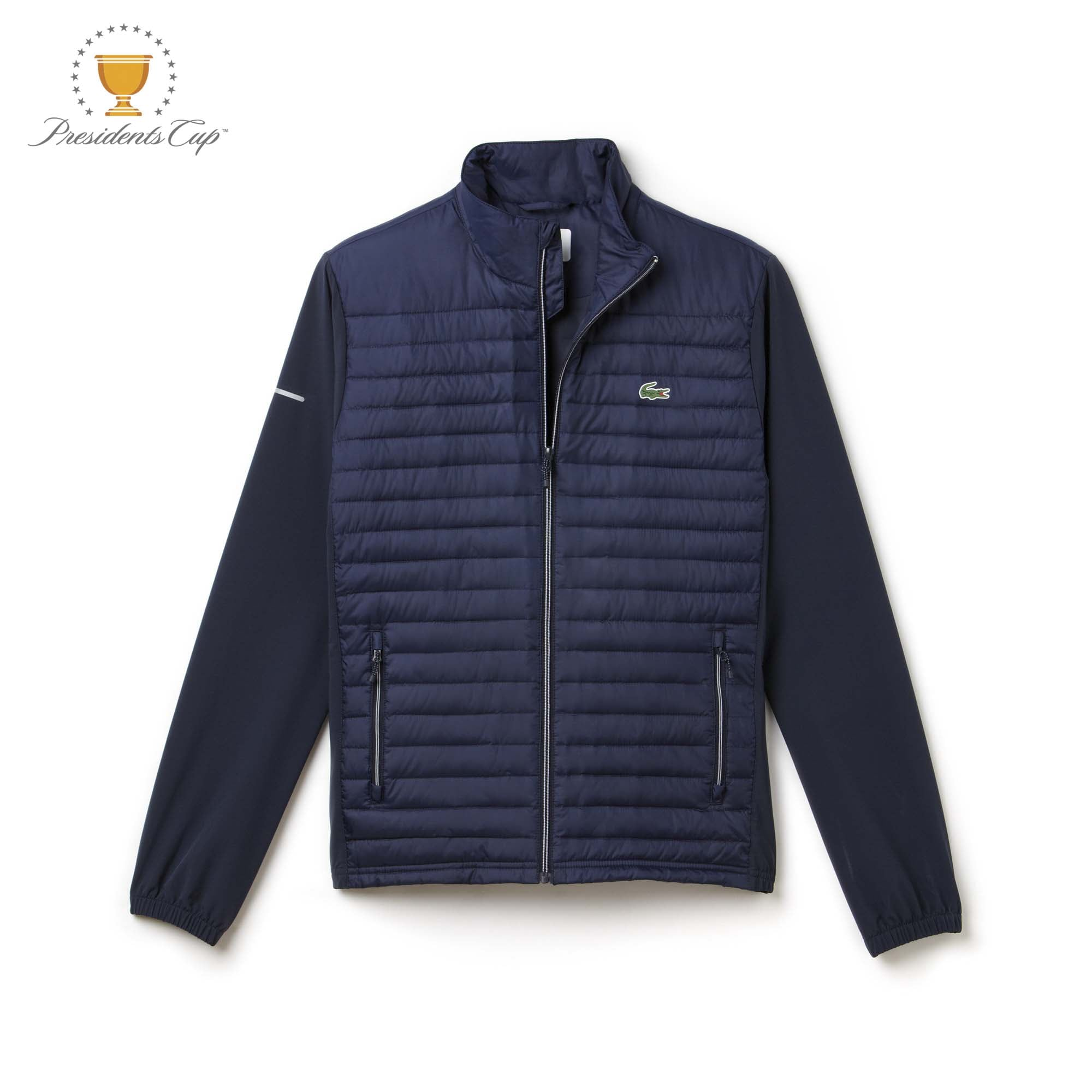 Men's  SPORT Golf Water-resistant Quilted Zip Jacket