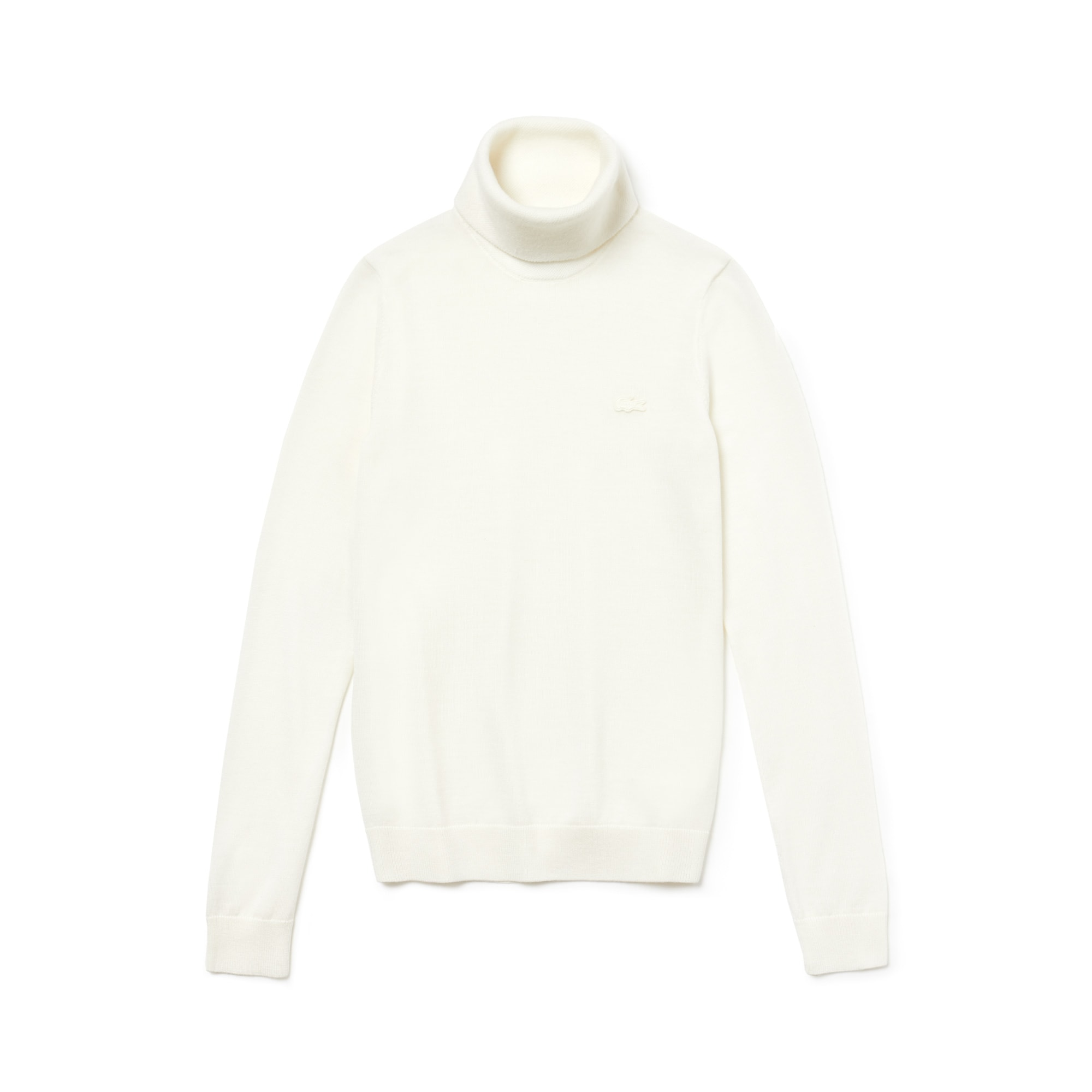 Women's Turtleneck Wool Jersey Sweater