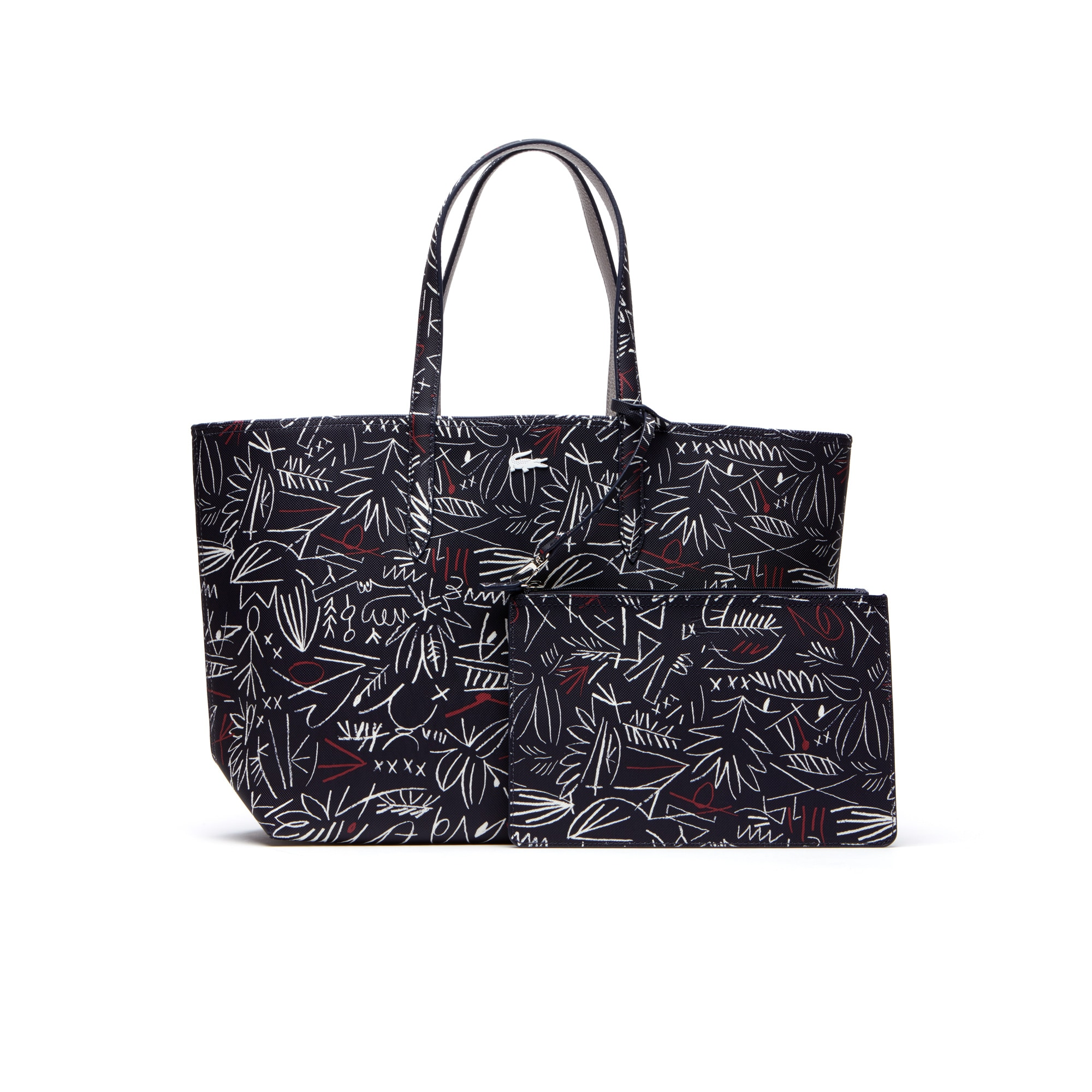 Women's Anna Reversible Bicolor Egyptian Print Tote Bag