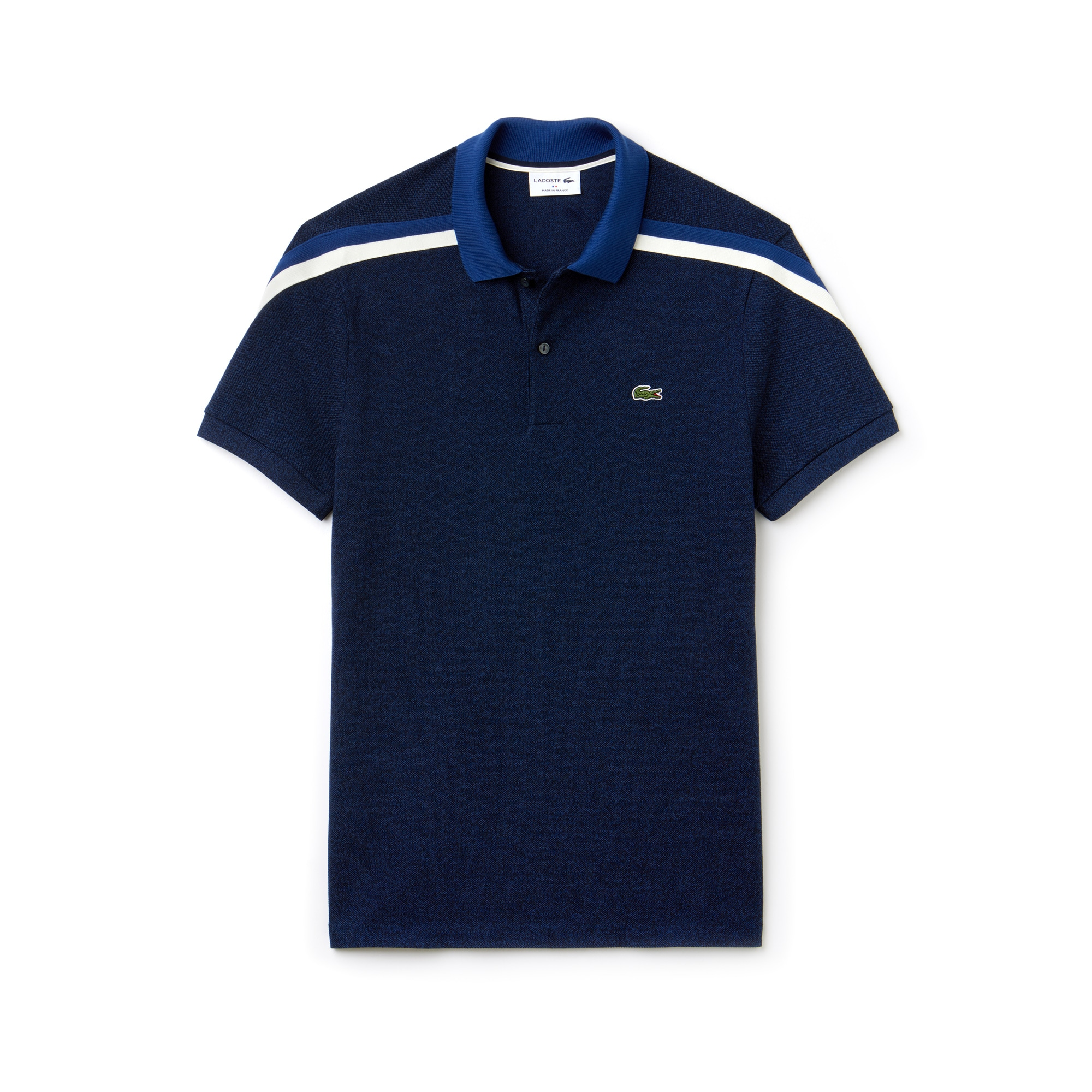 Men's Made In France Regular Fit Cotton Piqué Polo