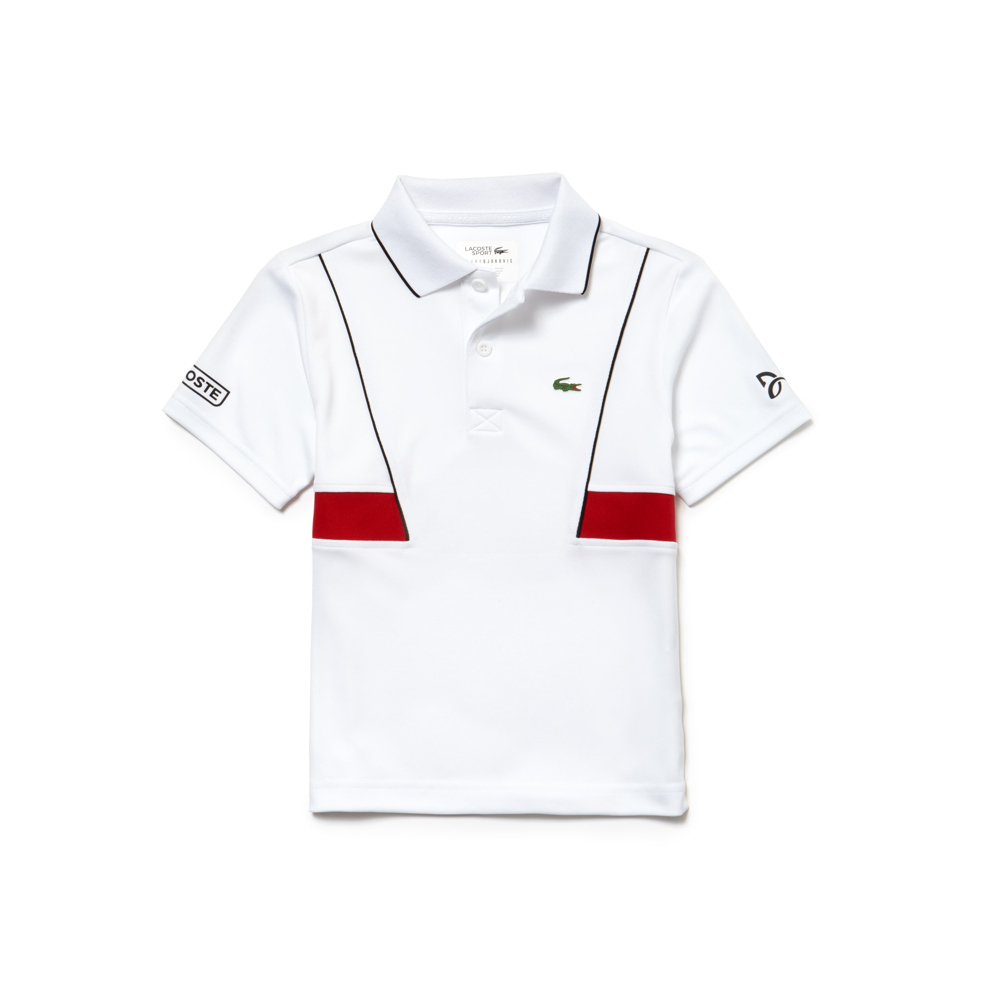 Boys' SPORT Technical Piqué Polo - Lacoste x Novak Djokovic