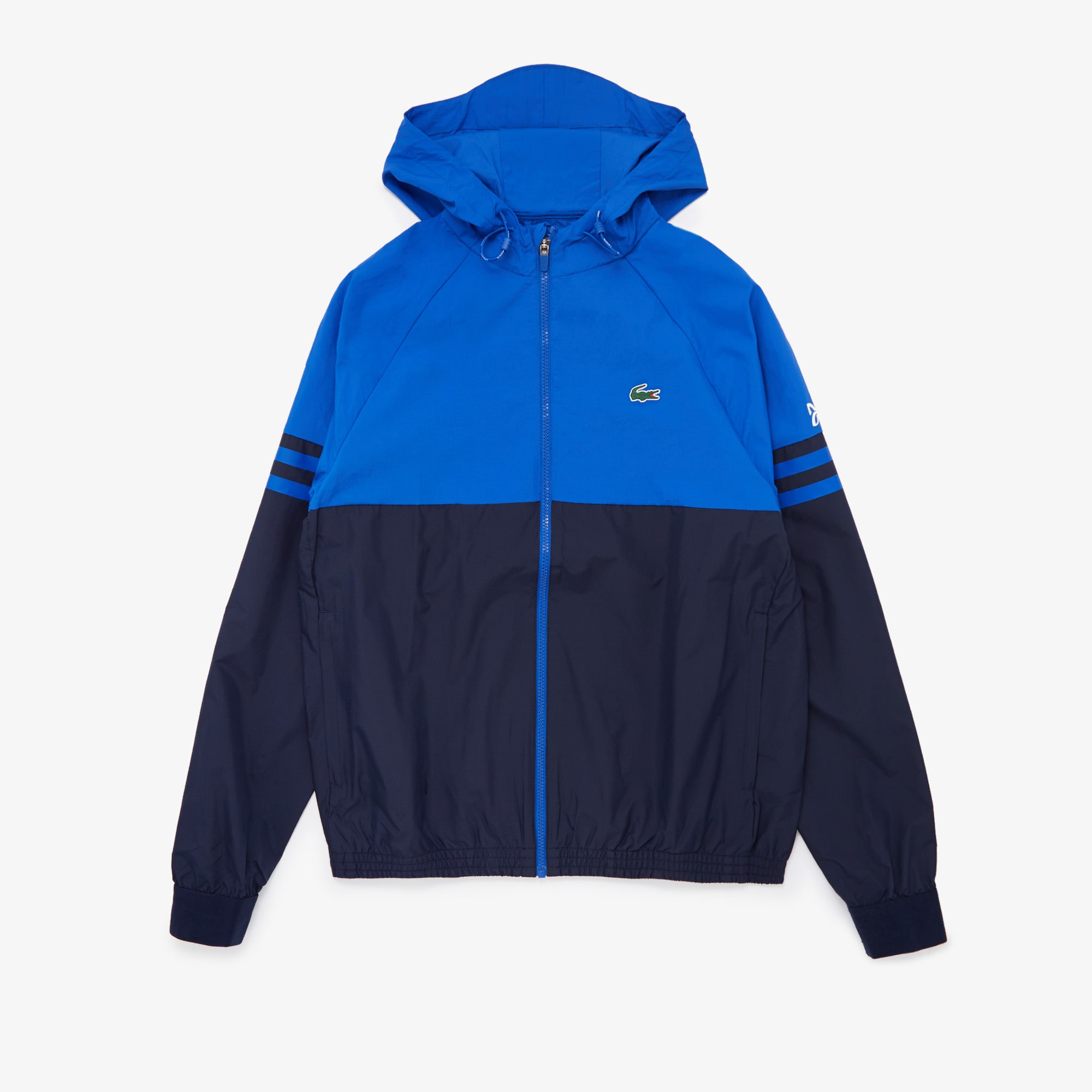 라코스테 Lacoste Men's SPORT x Novak Djokovic Water-Resistant Windbreaker
