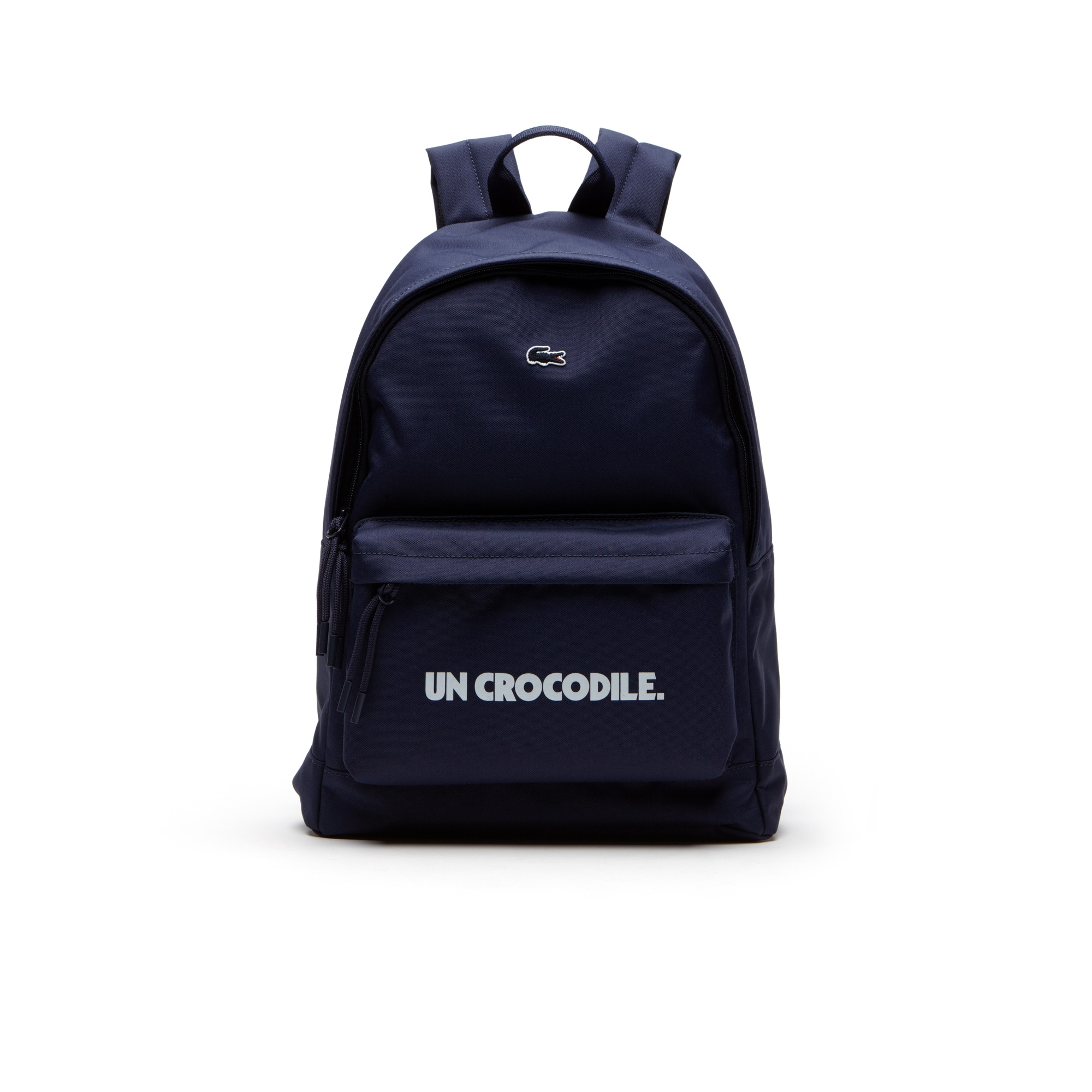 Men's Neocroc Un Crocodile Lettering Monochrome Backpack